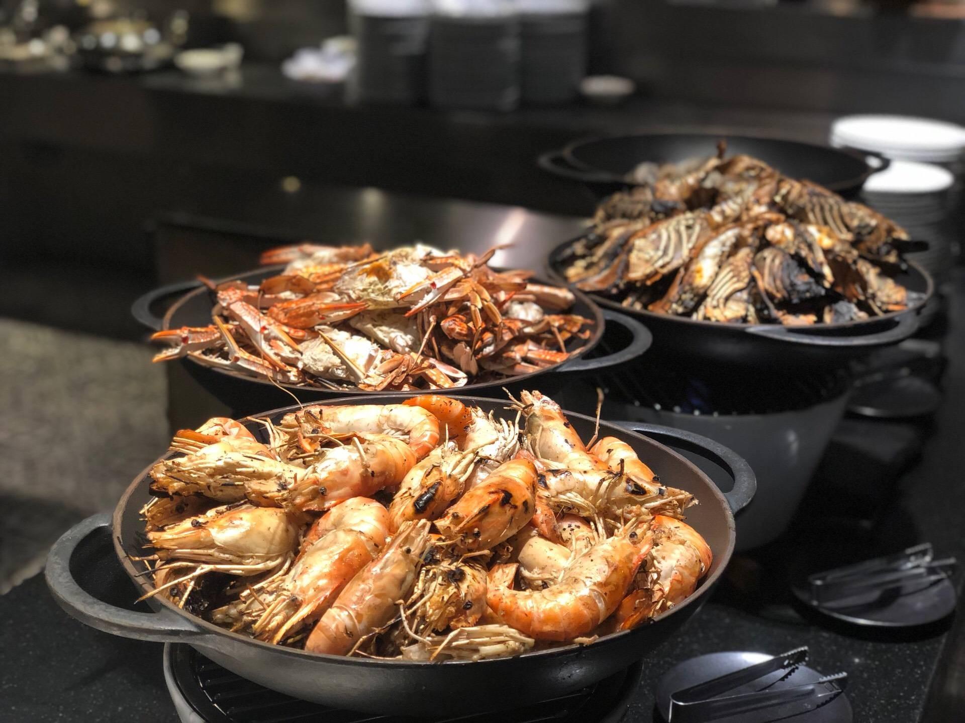 Starz Diner - The Great Charcoal BBQ Buffet. Hard Rock Hotel Pattaya