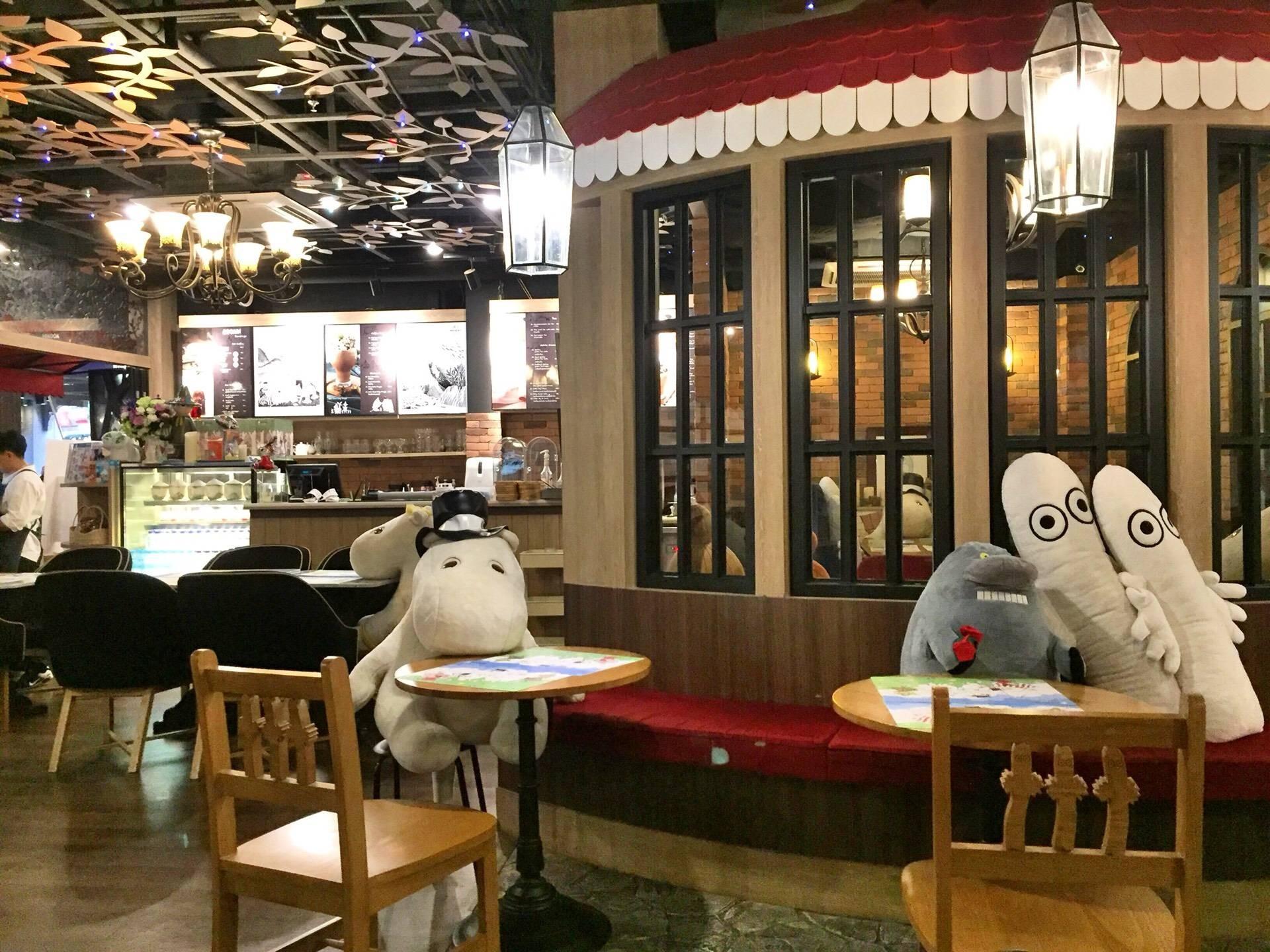 Moomin Cafe สยามเซ็นเตอร์