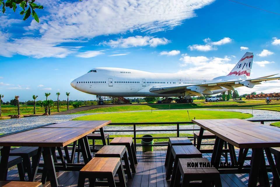 Takeoff Cafe' @Airplane Park Korat