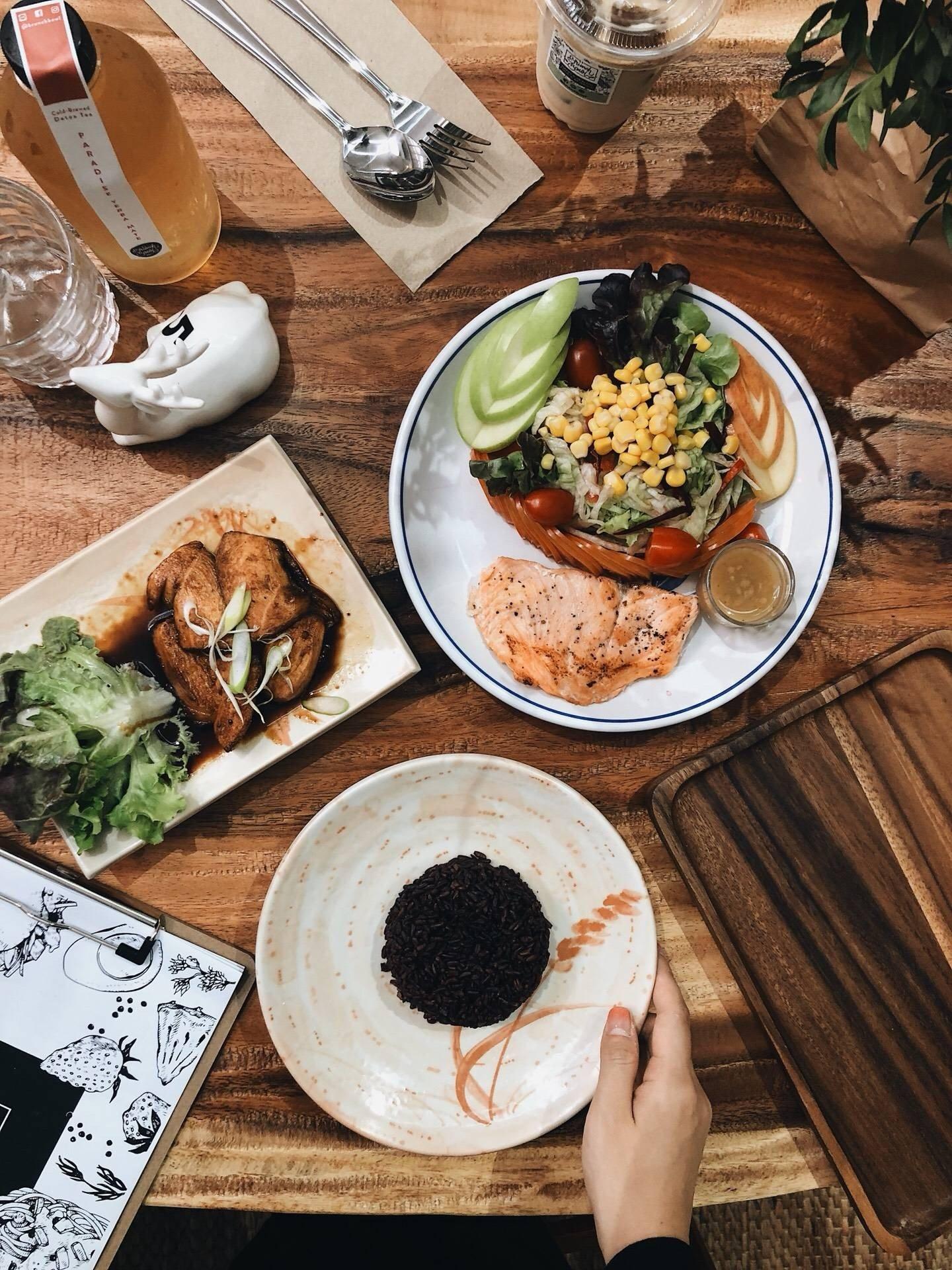 Brunch Bowl-Happy & Healthy Cafe
