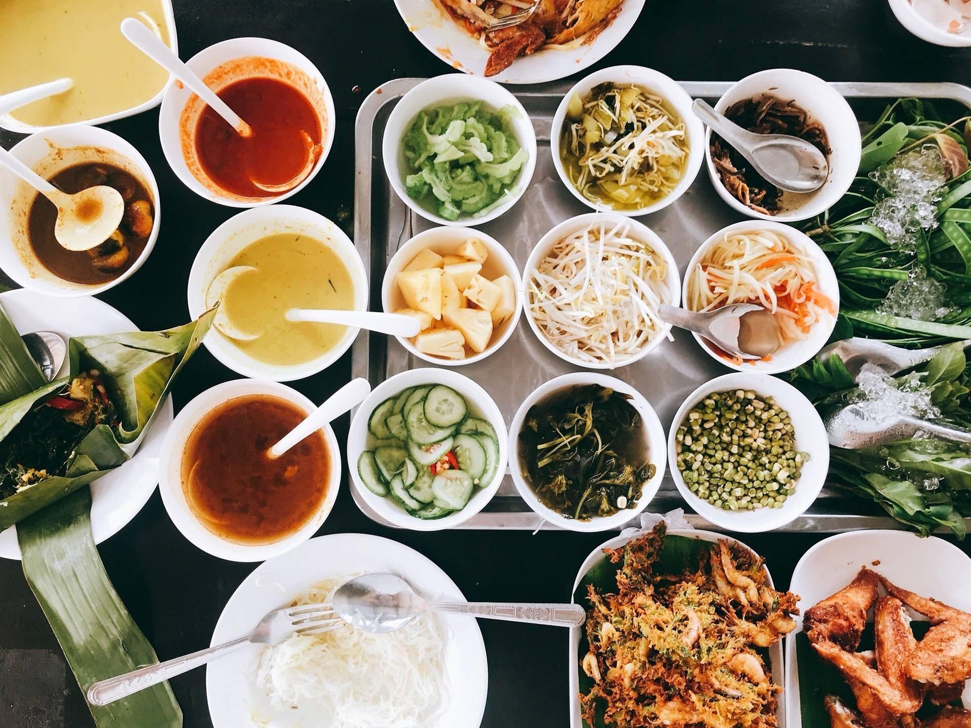 ขนมจีนแม่ยาย เส้นสดน้ำแกงปูม้า