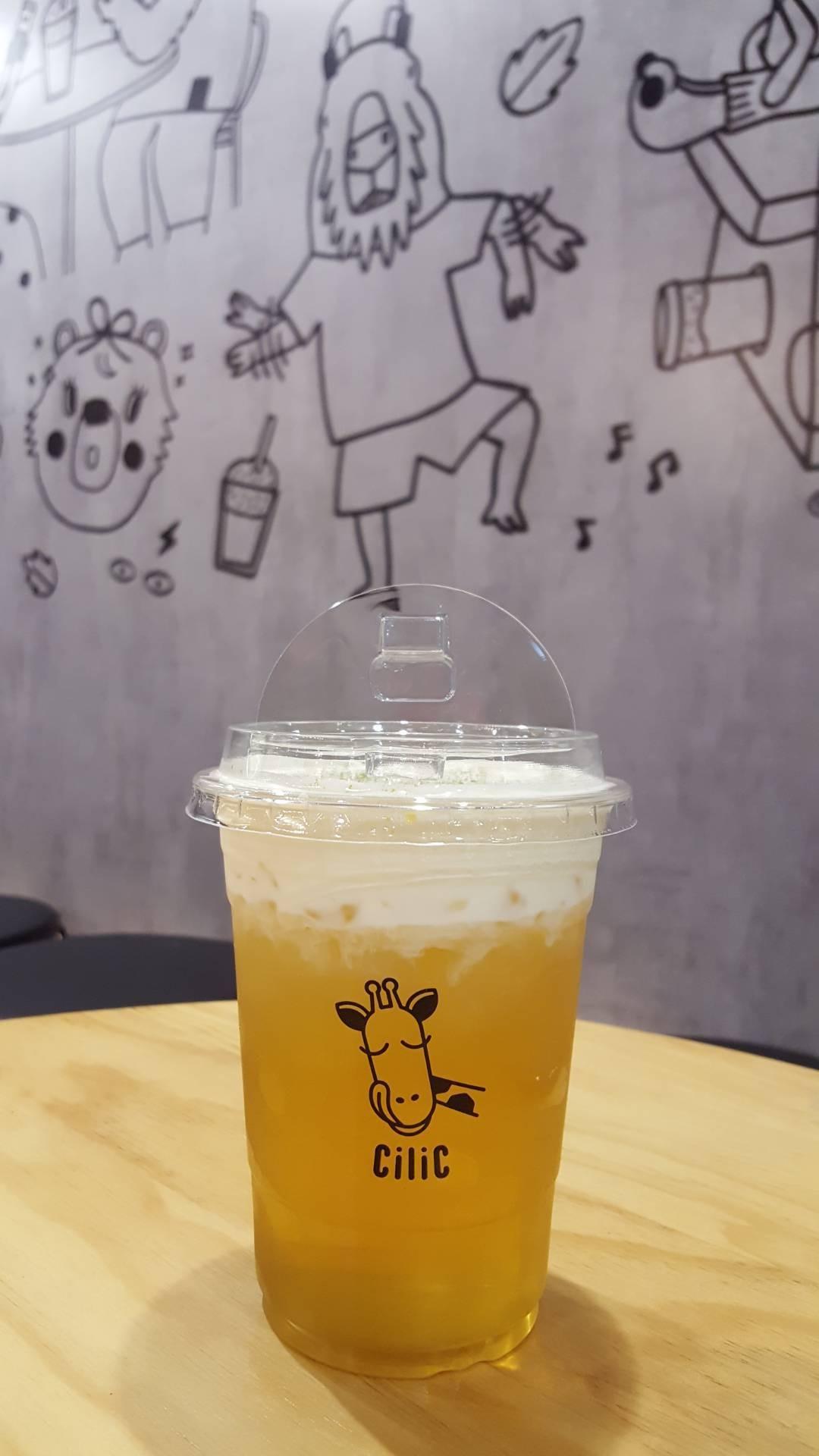 CiliC Tea - premium bubble & cream cheese tea shop อาคารจามจุรีสแควร์