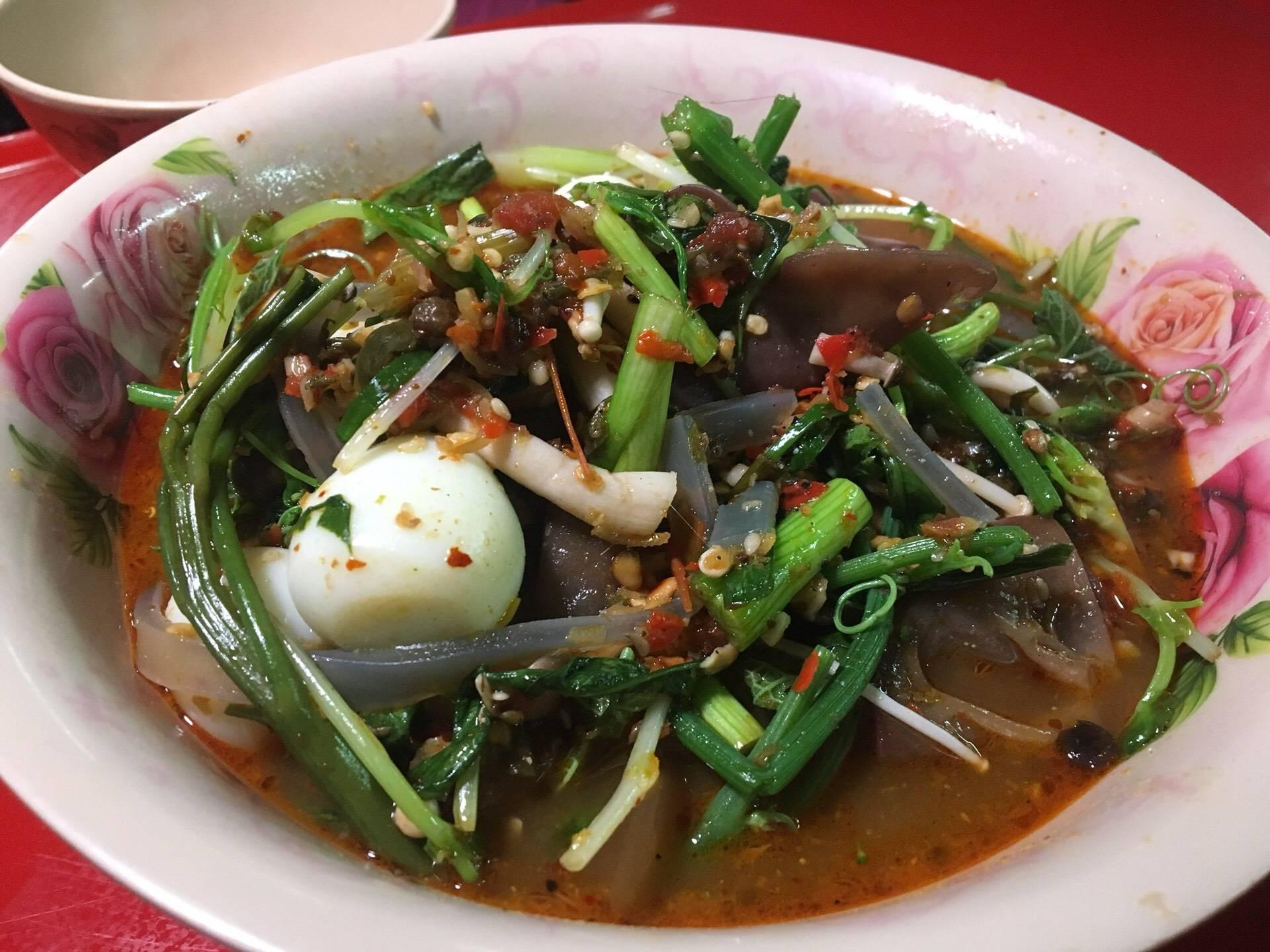 อาหารจีนยูนนาน หม่าร่า ฟู่หยง