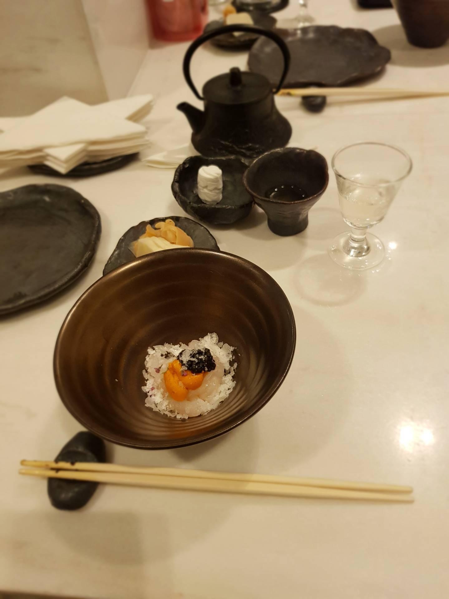 เมนูของร้าน Sushi Niwa