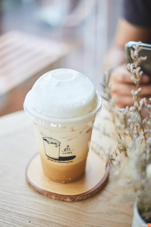 A Blank coffee บางแสน