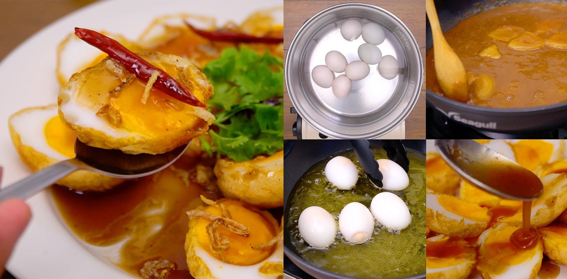 """วิธีทำ """"ไข่ลูกเขย"""" เมนูไข่ทำง่าย เปรี้ยวหวานโดนใจ กินได้ทั้งครอบครัว!"""