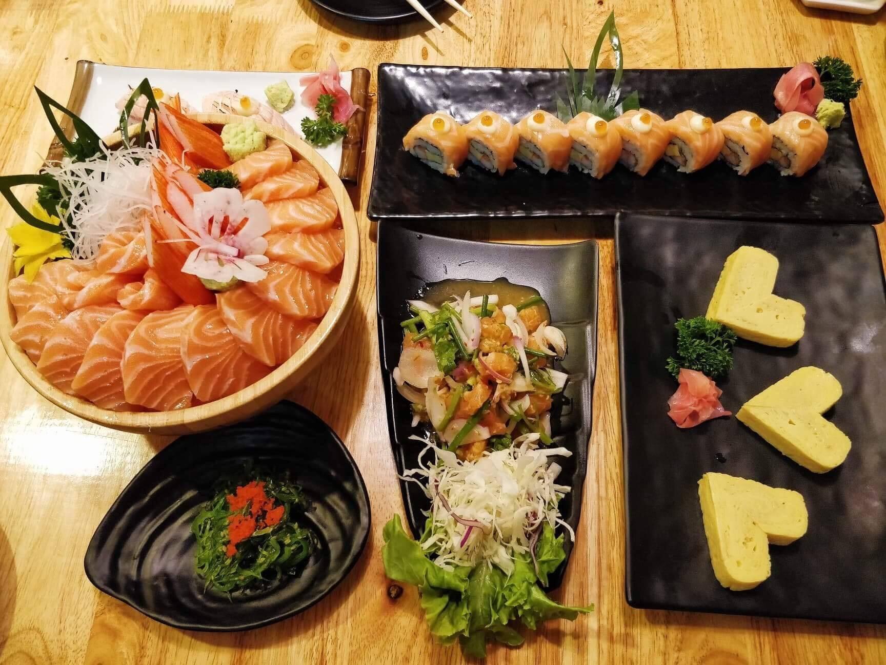 Nigiwai Sushi ศรีราชา