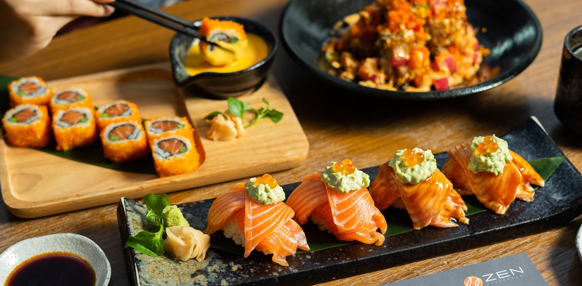 """ZEN"" ร้านอาหารญี่ปุ่นยอดนิยมกับ 3 เมนูใหม่ในแคมเปญ Tokyo Creation"