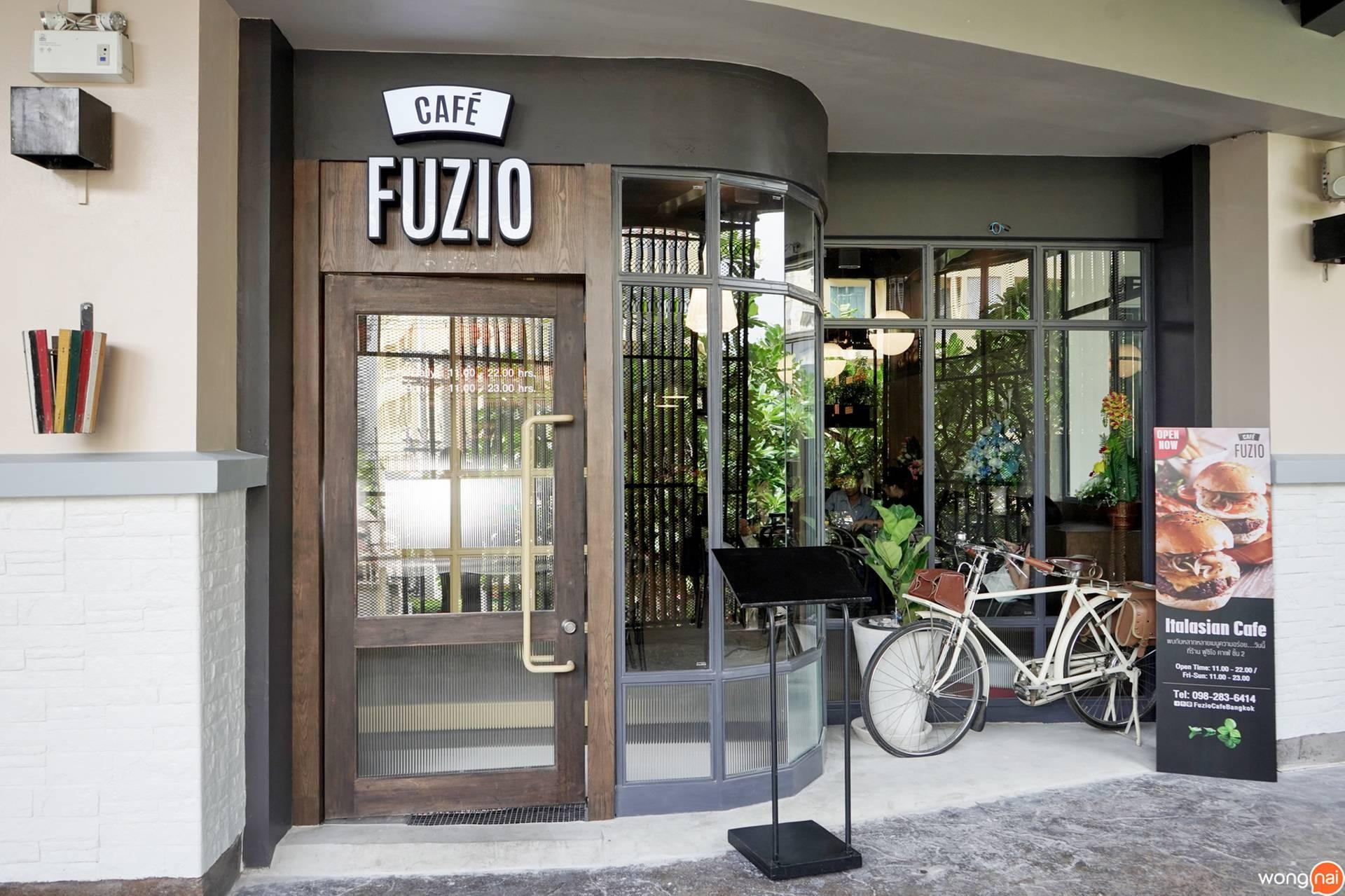 Fuzio Café เจ อเวนิว