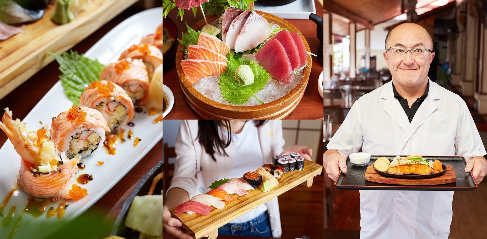 ร้านอาหารญี่ปุ่น วัตถุดิบคุณภาพ ฟินเหมือนกินอยู่ญี่ปุ่น Tsubaki ชลบุรี