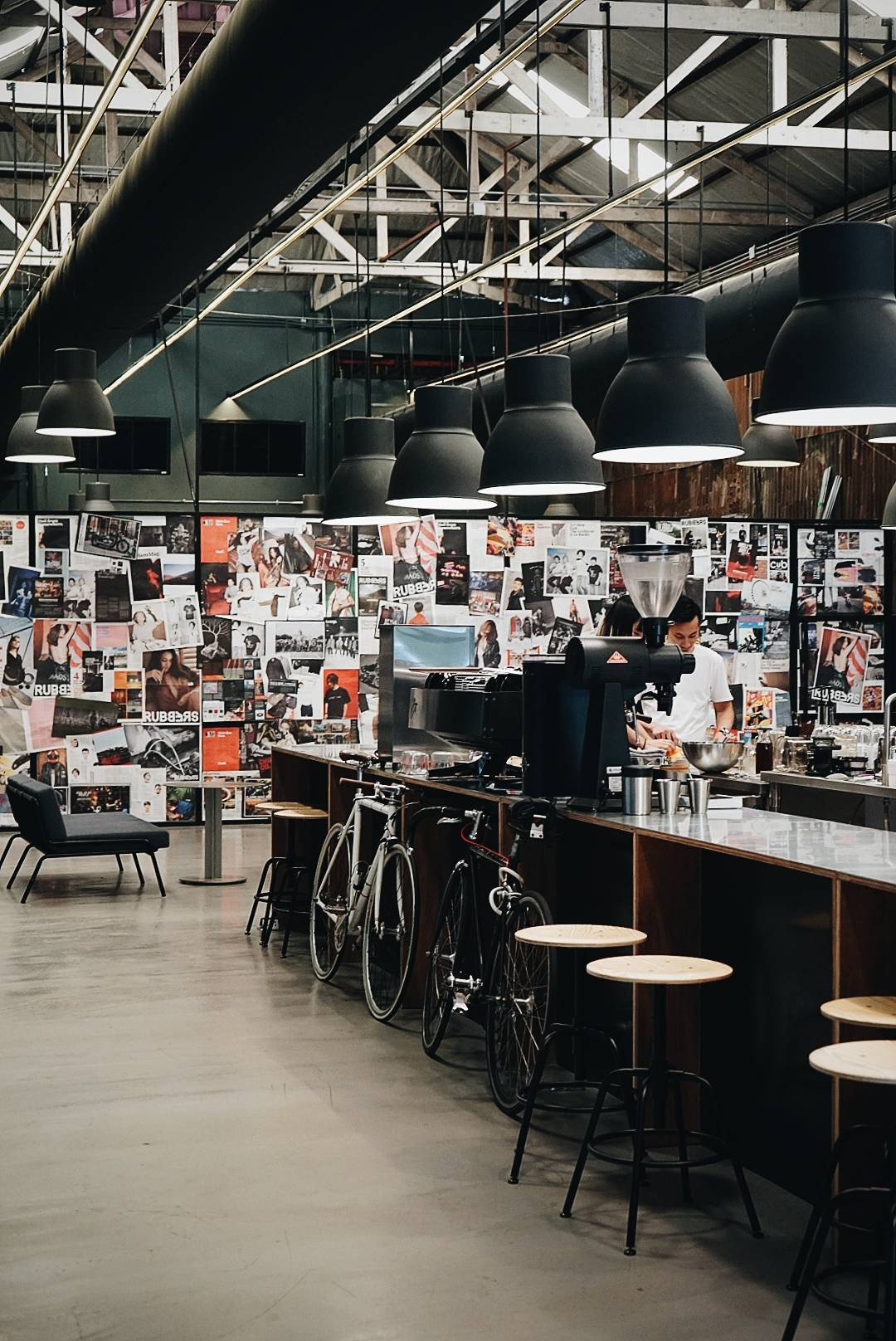 a Coffee Roaster by li-bra-ry warehouse 30 , เจริญกรุง 30