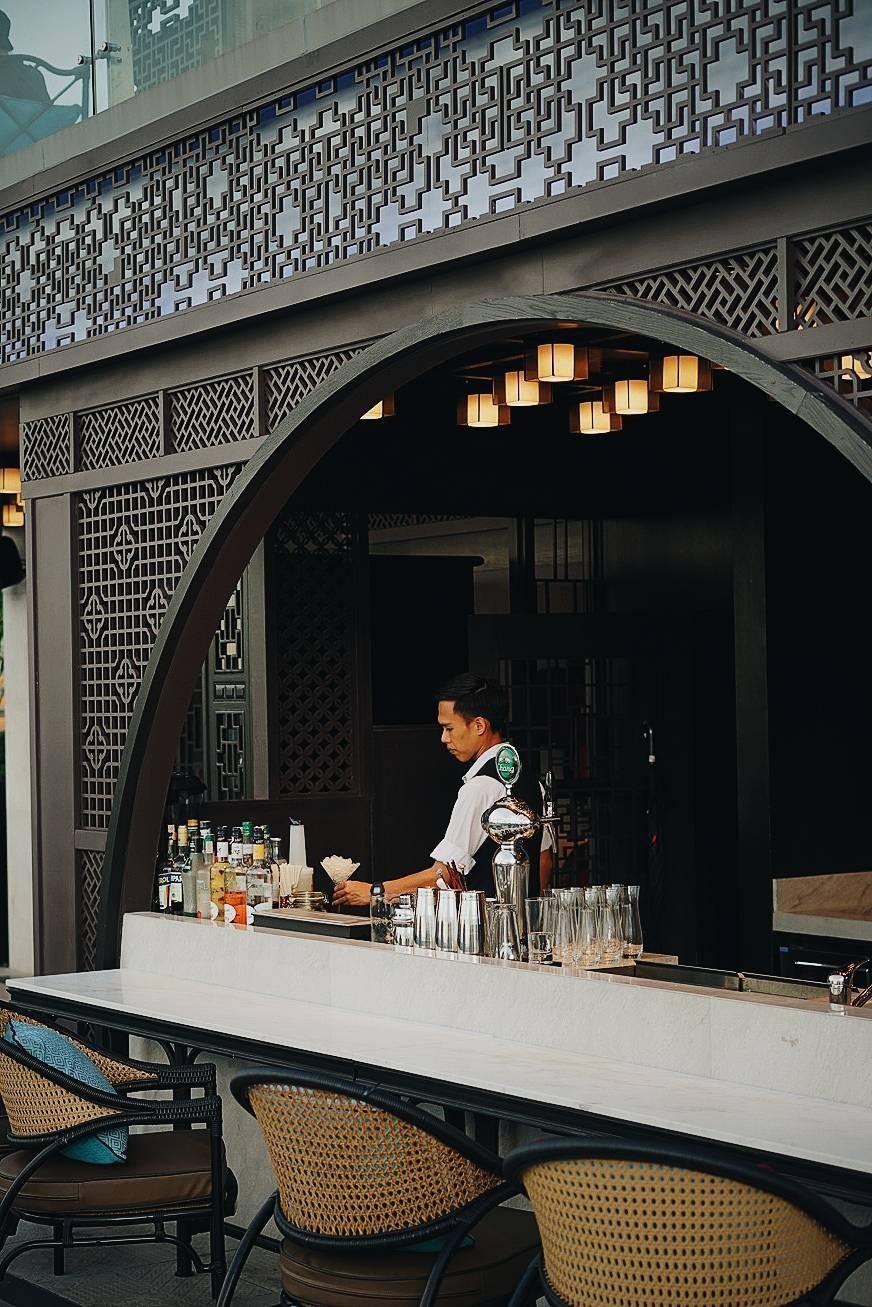Yào Rooftop Bar  โรงแรม แบงค็อก แมริออท เดอะ สุรวงศ์