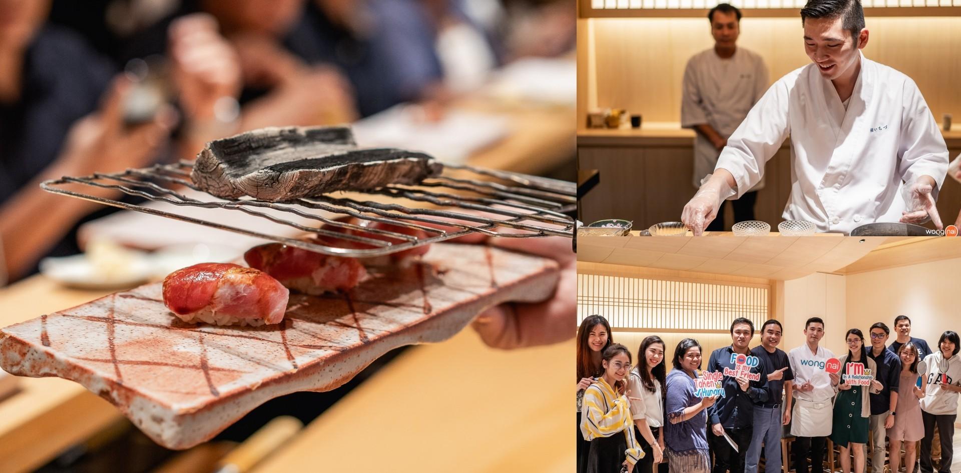 Wongnai Chef's Table x Sushi Ichizu