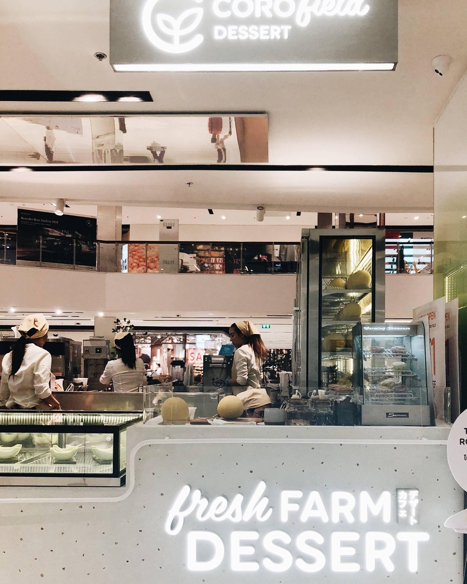 CORO FIELD Dessert CentralWorld