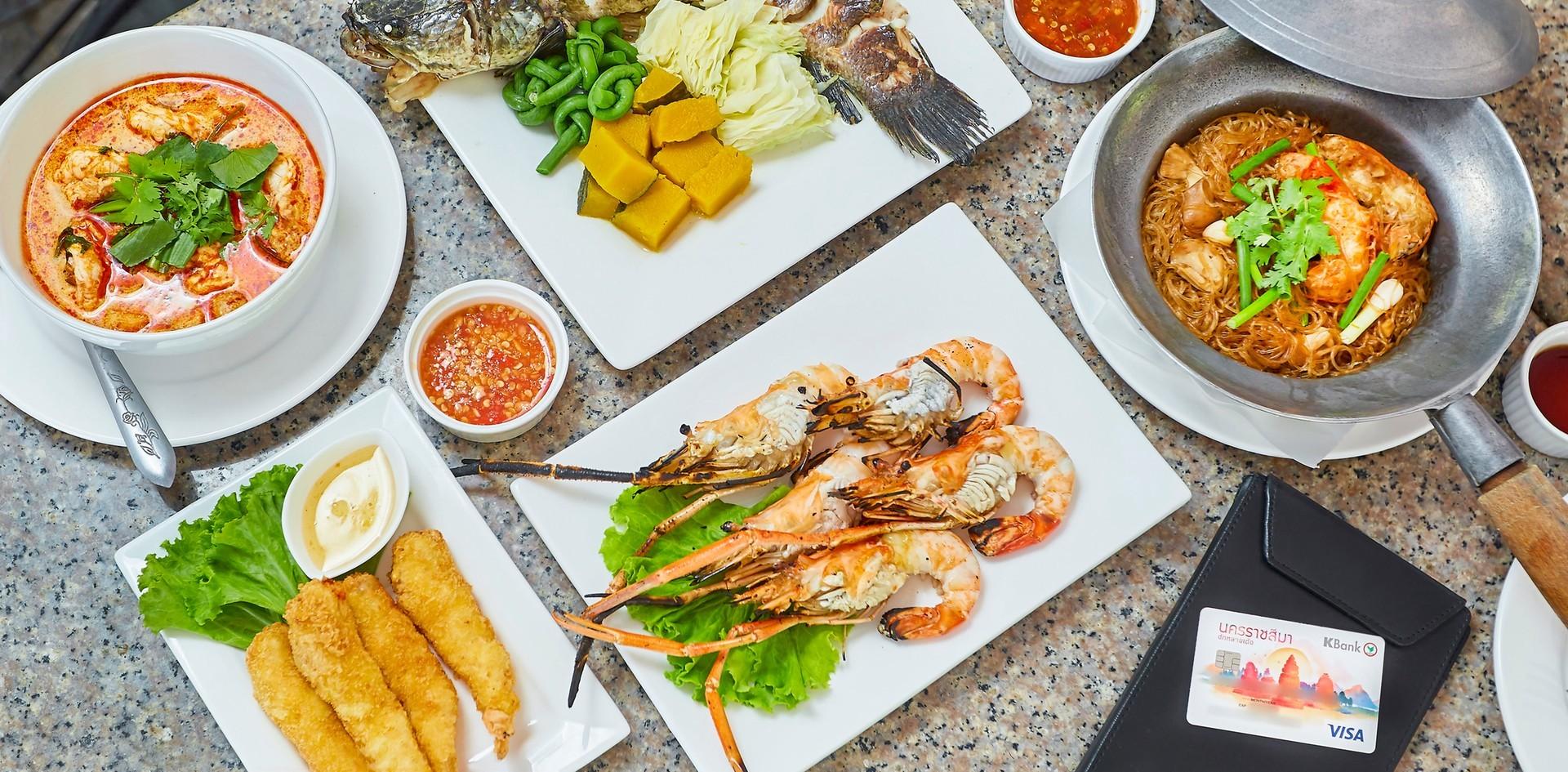 [รีวิว] ก้ามทอง ร้านอาหารทะเลโคราช เสิร์ฟเมนูกุ้งเน้น ๆ เนื้อแน่นสะใจ