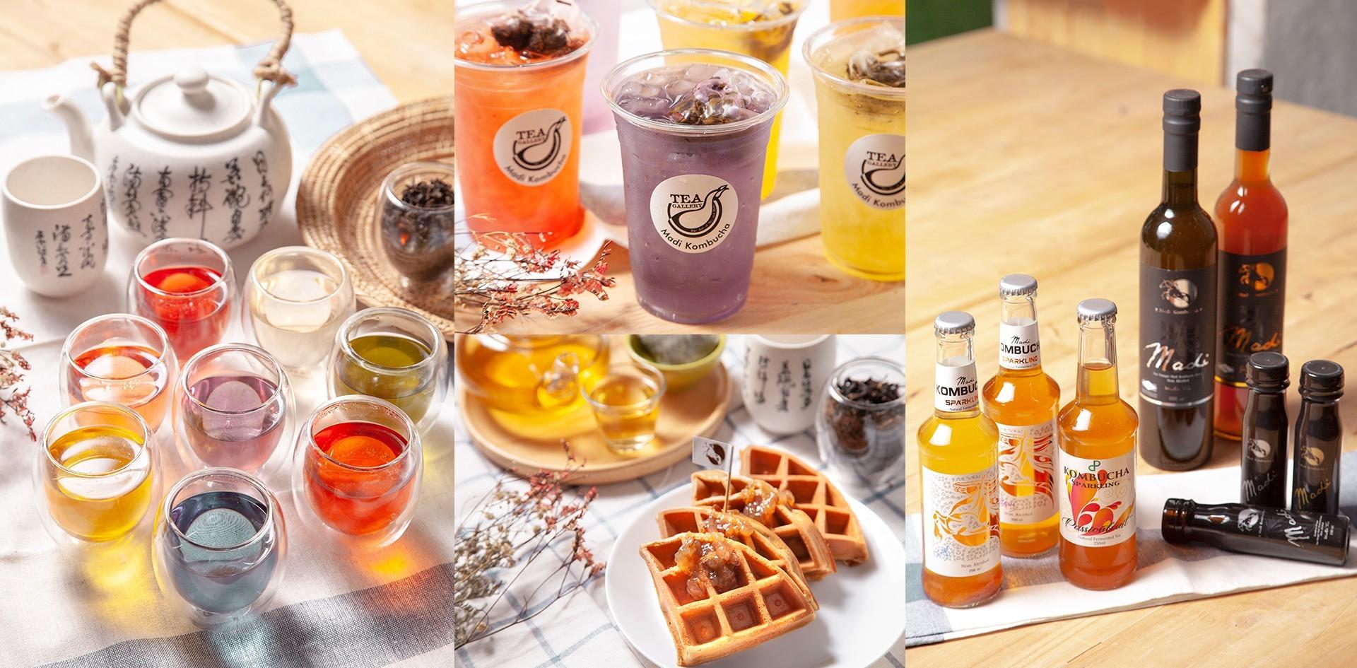 [รีวิว] Gemstone Tea ชา 7 สี หอมทะลุจักรวาล ที่ Tea Gallery เชียงใหม่