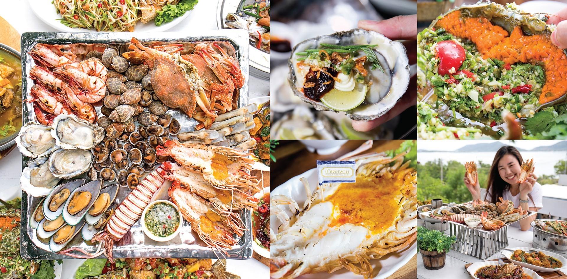[รีวิว] ร้านน้ำเคียงดิน เกาะยอ สงขลา กินอาหารทะเลสด ๆ กับวิวพาโนรามา