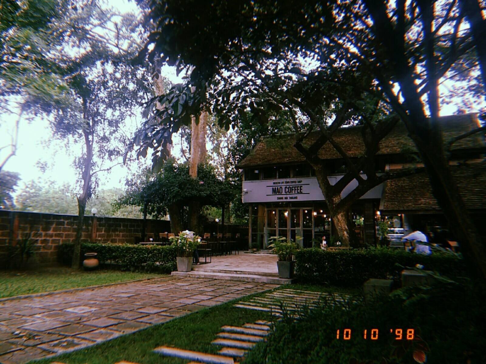 หน้าร้าน Mao Coffee