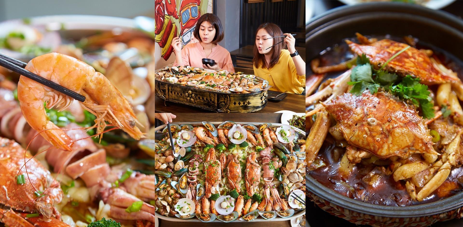 [รีวิว] โพไซดอนทะเลเดือด ร้านอาหารทะเลพัทยา เสิร์ฟใหญ่จัดเต็มทุกเมนู!