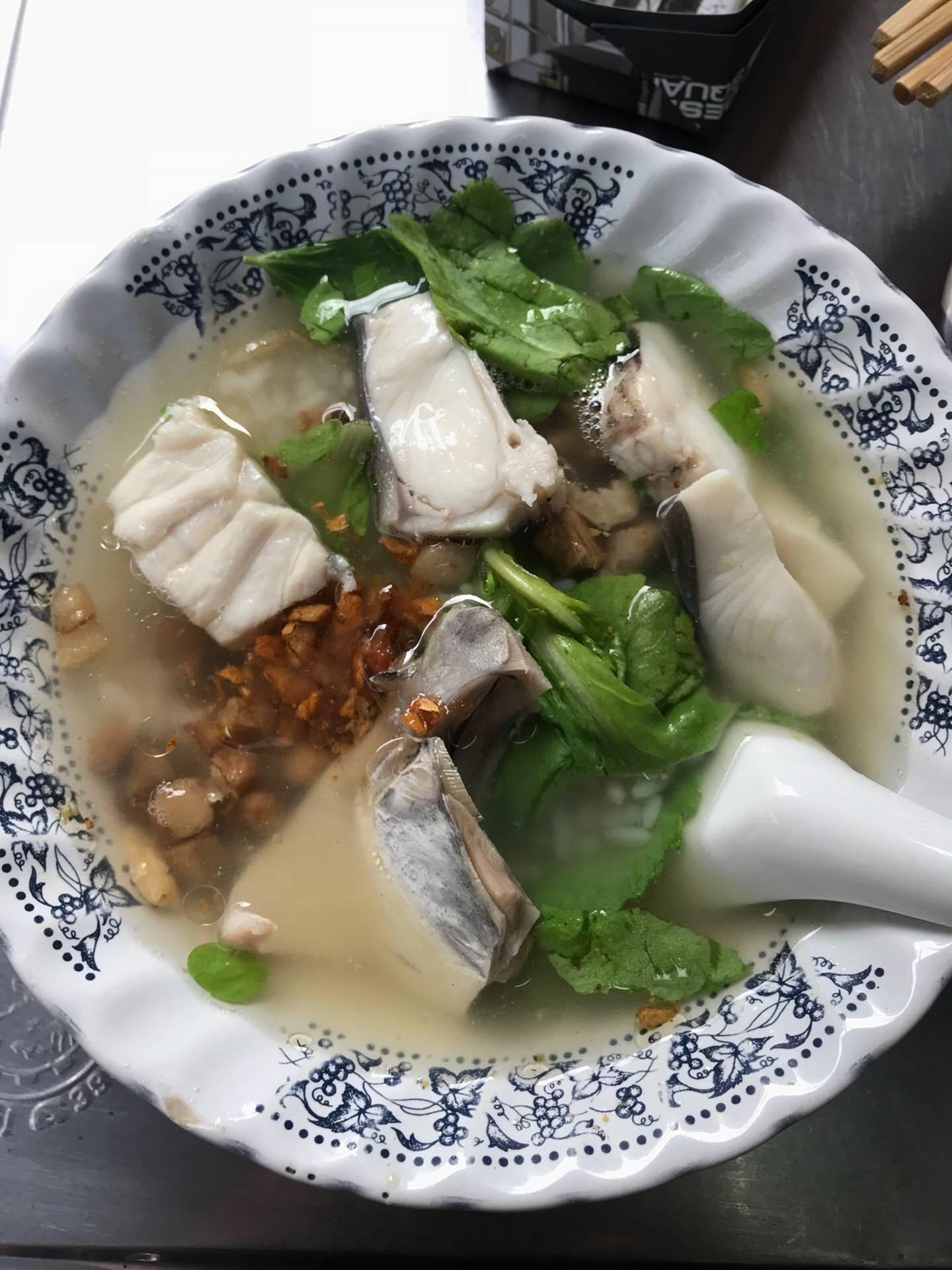 เซี่ยงกี่ข้าวต้มปลา