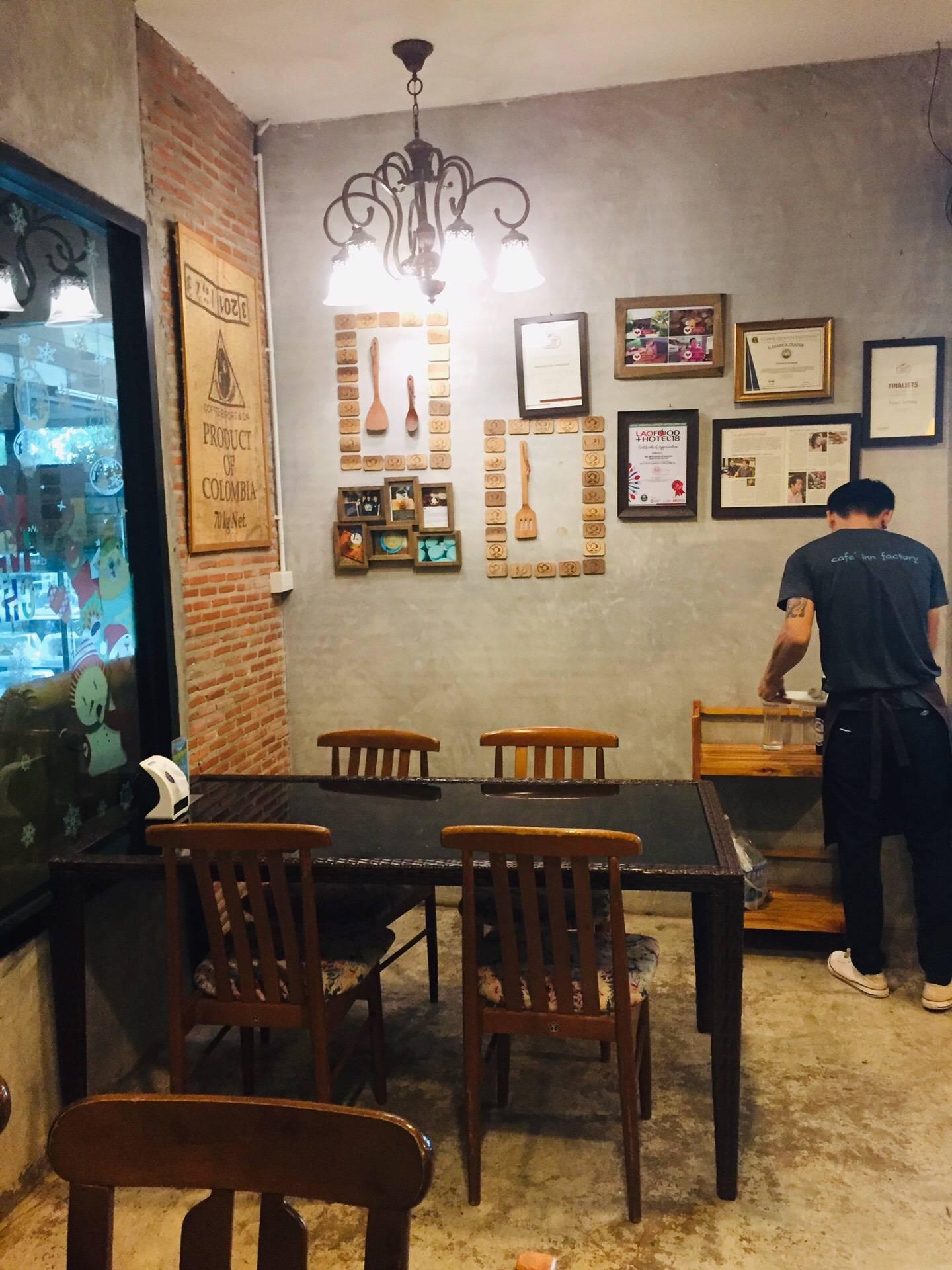 บรรยากาศ Cafe' Inn Factory
