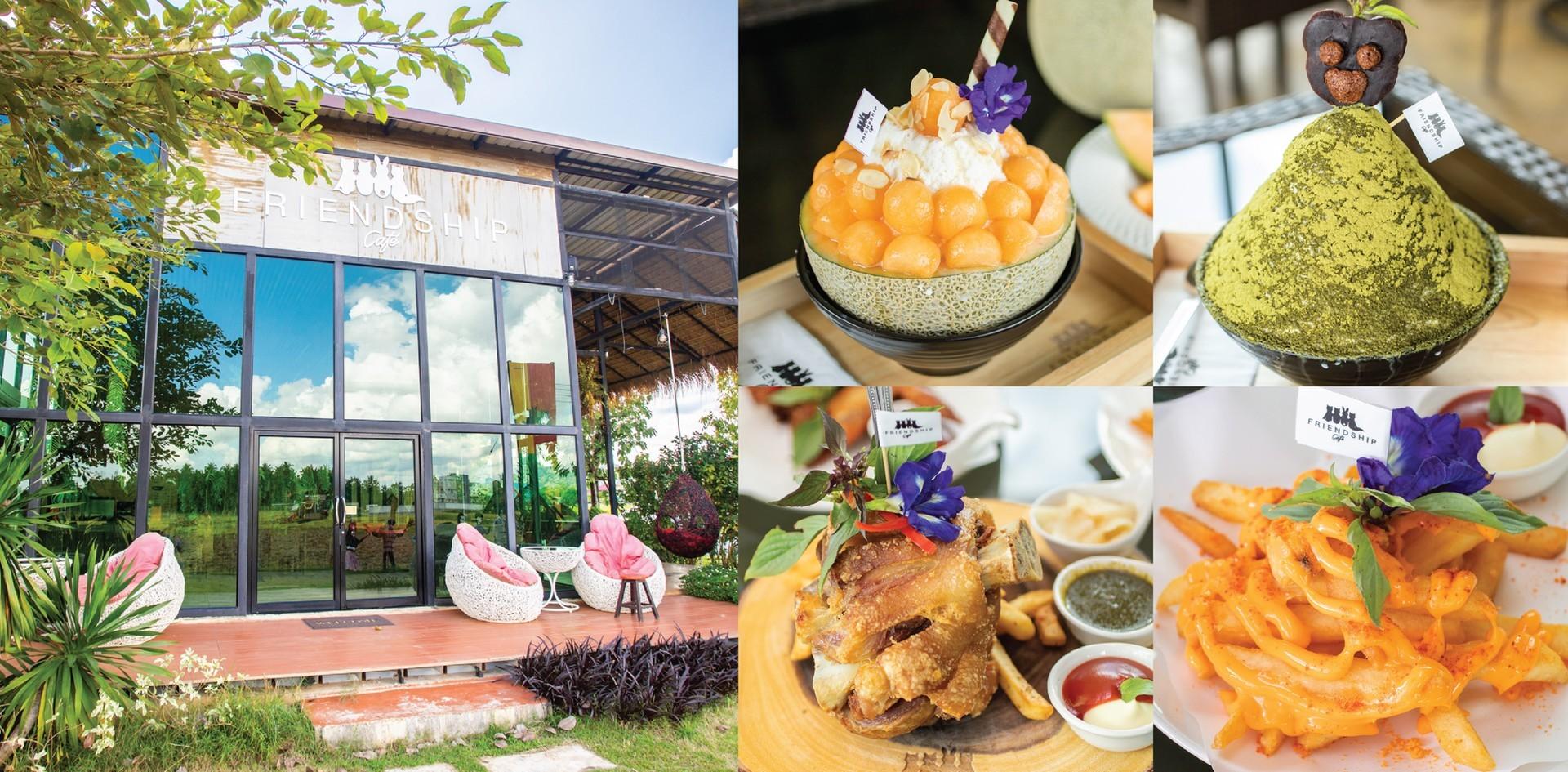 [รีวิว] ร้าน Friendship Cafe จ.สุโขทัย คาเฟ่น่ารักท่ามกลางธรรมชาติ