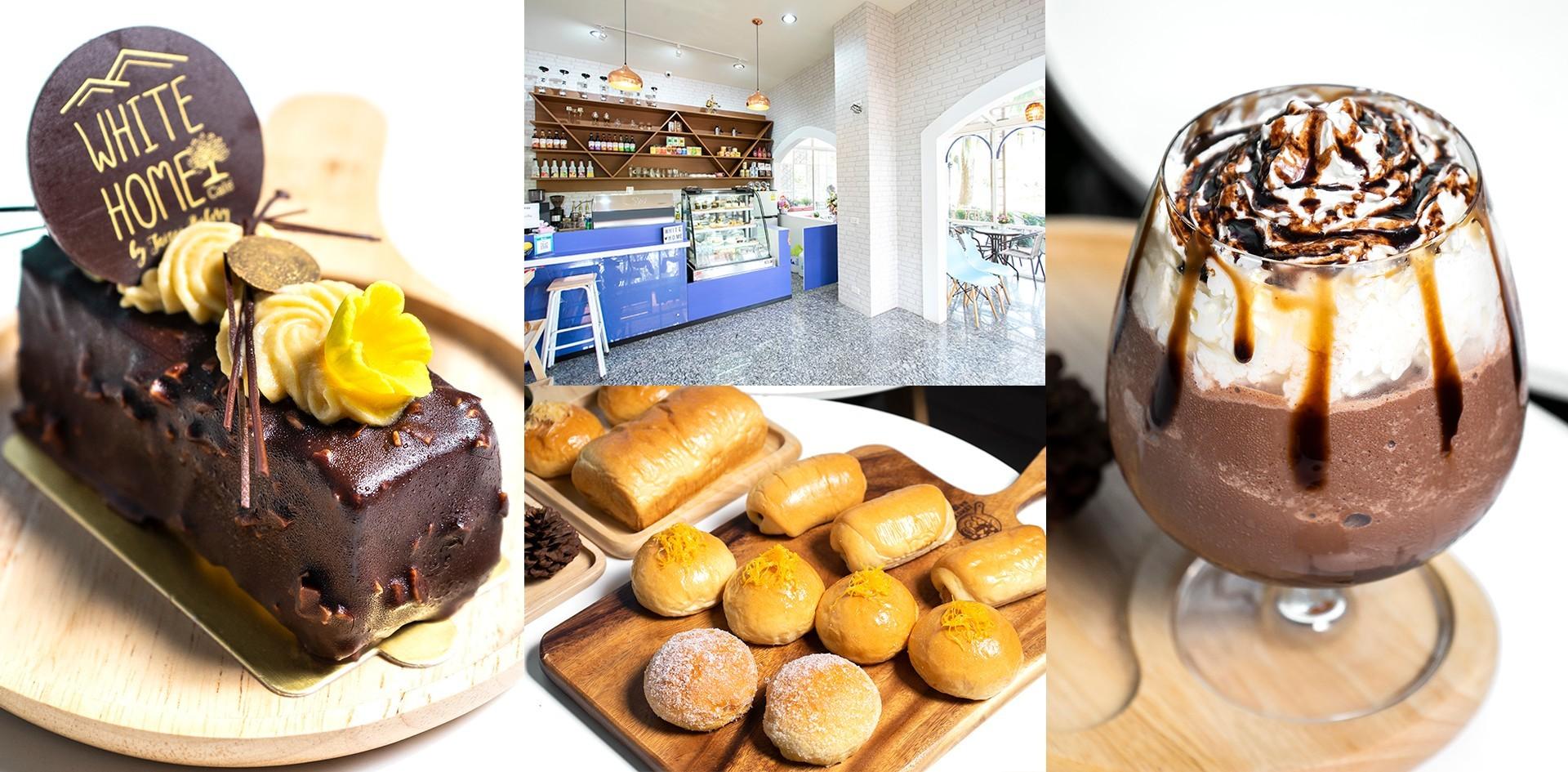 [รีวิว] White Home Cafe คาเฟ่เชียงใหม่สำหรับคนที่มีใจรักเบเกอรีหอม ๆ