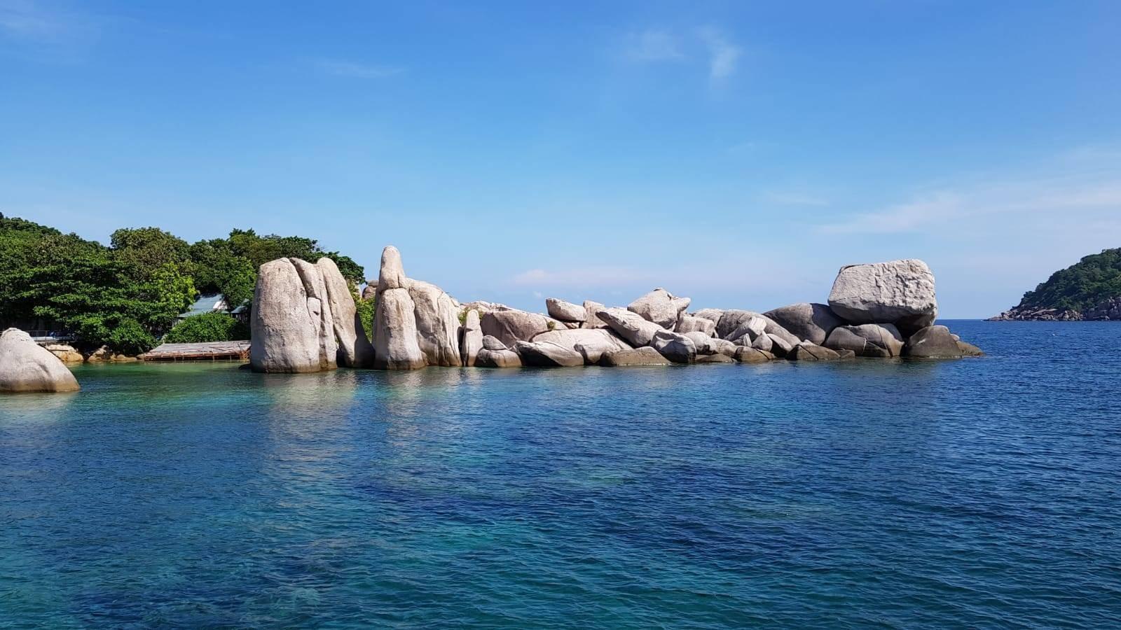 จุดดำน้ำ เกาะนางยวน