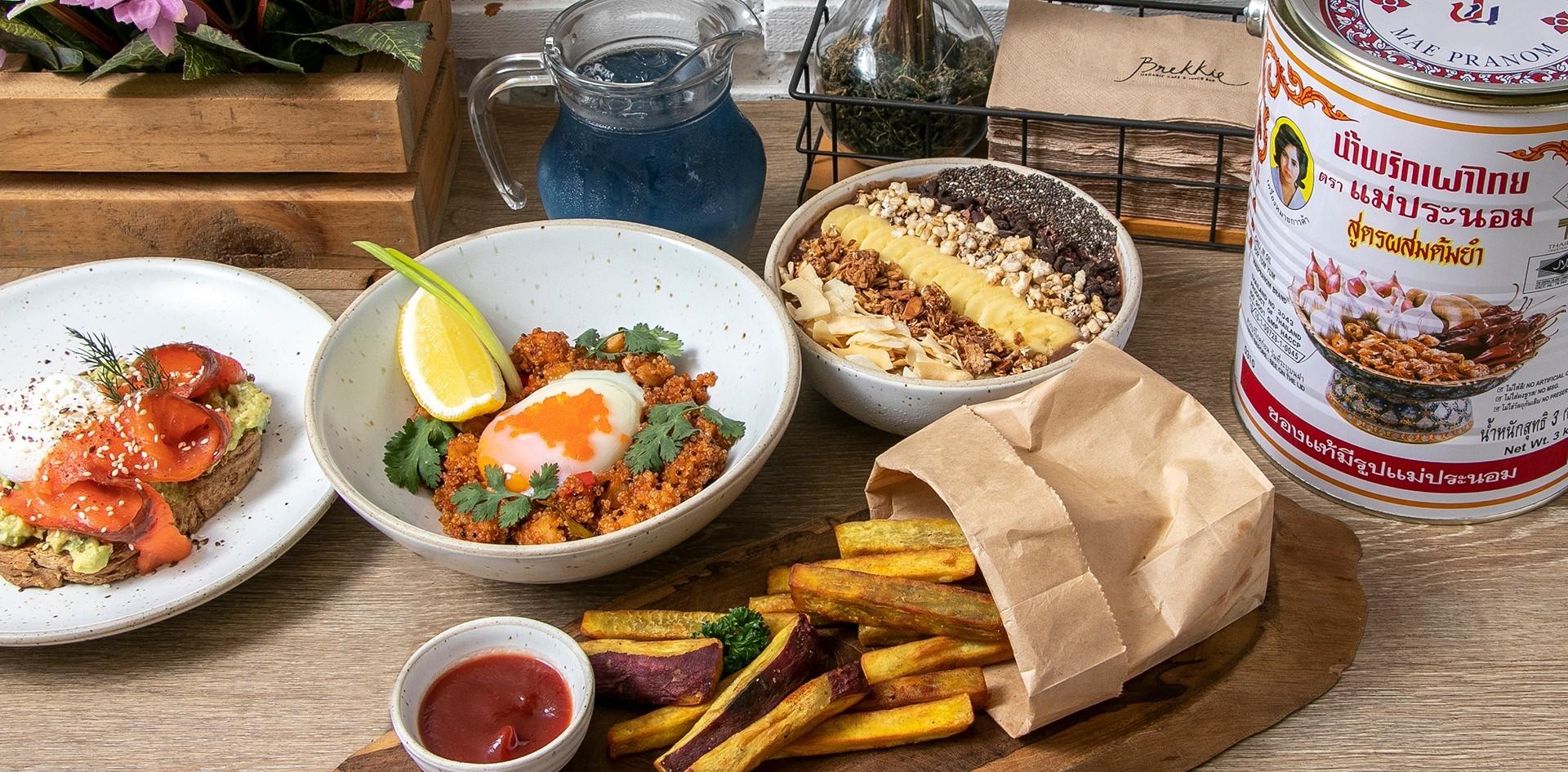 [รีวิว] Brekkie Organic Cafe คาเฟ่ออร์แกนิก เอาใจคนรักสุขภาพ !