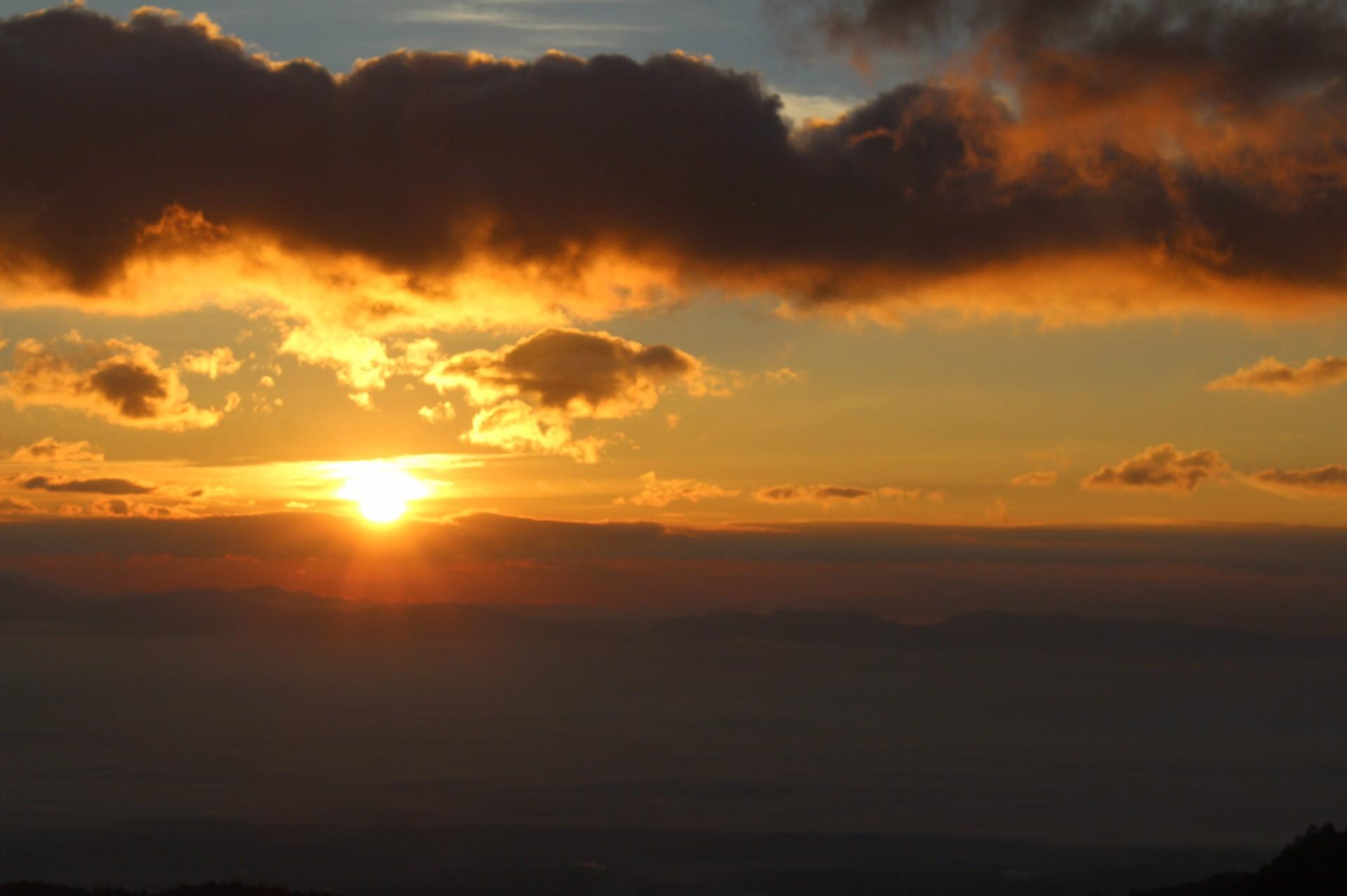 พระอาทิตย์ขึ้นแล้ว