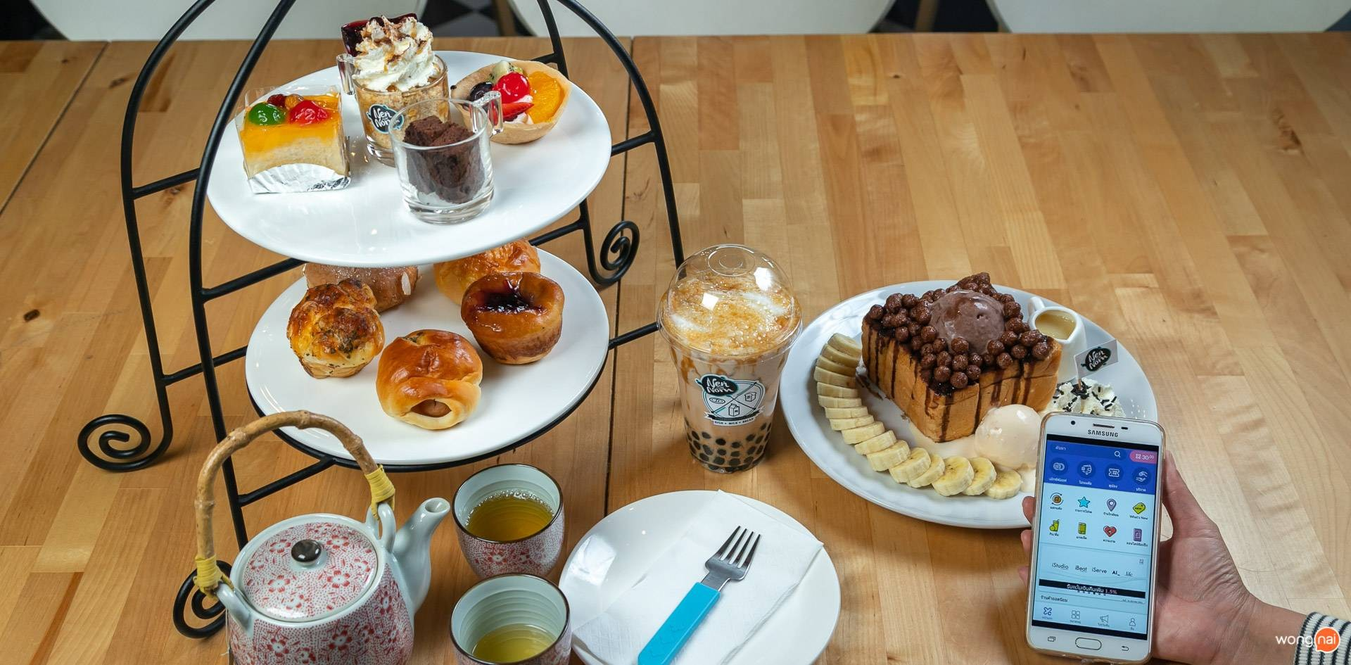 NenNom Cafe'(เน้นนมคาเฟ่) พุทธมณฑลสาย 1