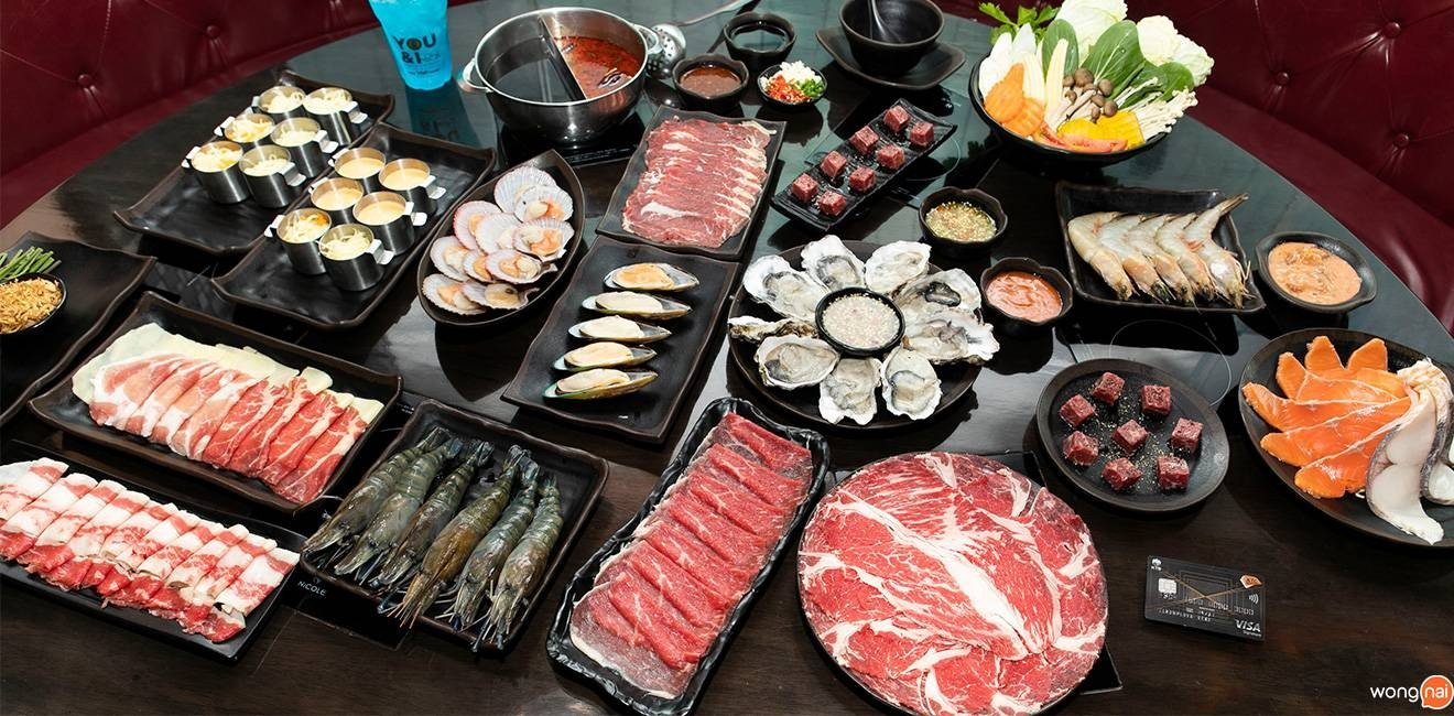 You & I Premium Suki Buffet The Emquartier