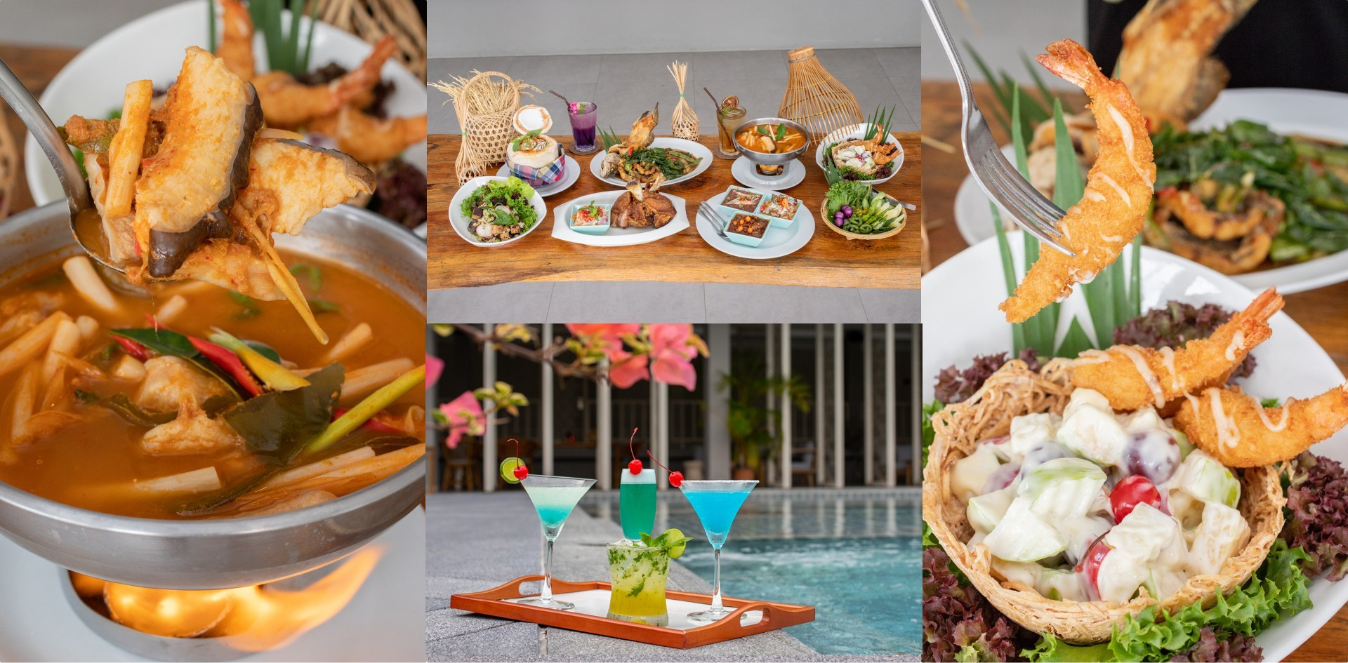 [รีวิว] ครัวทอข้าว ร้านอาหารราชบุรี ฟินอาหารไทย-จีน ชิลล์ในสวน ณ เวลา