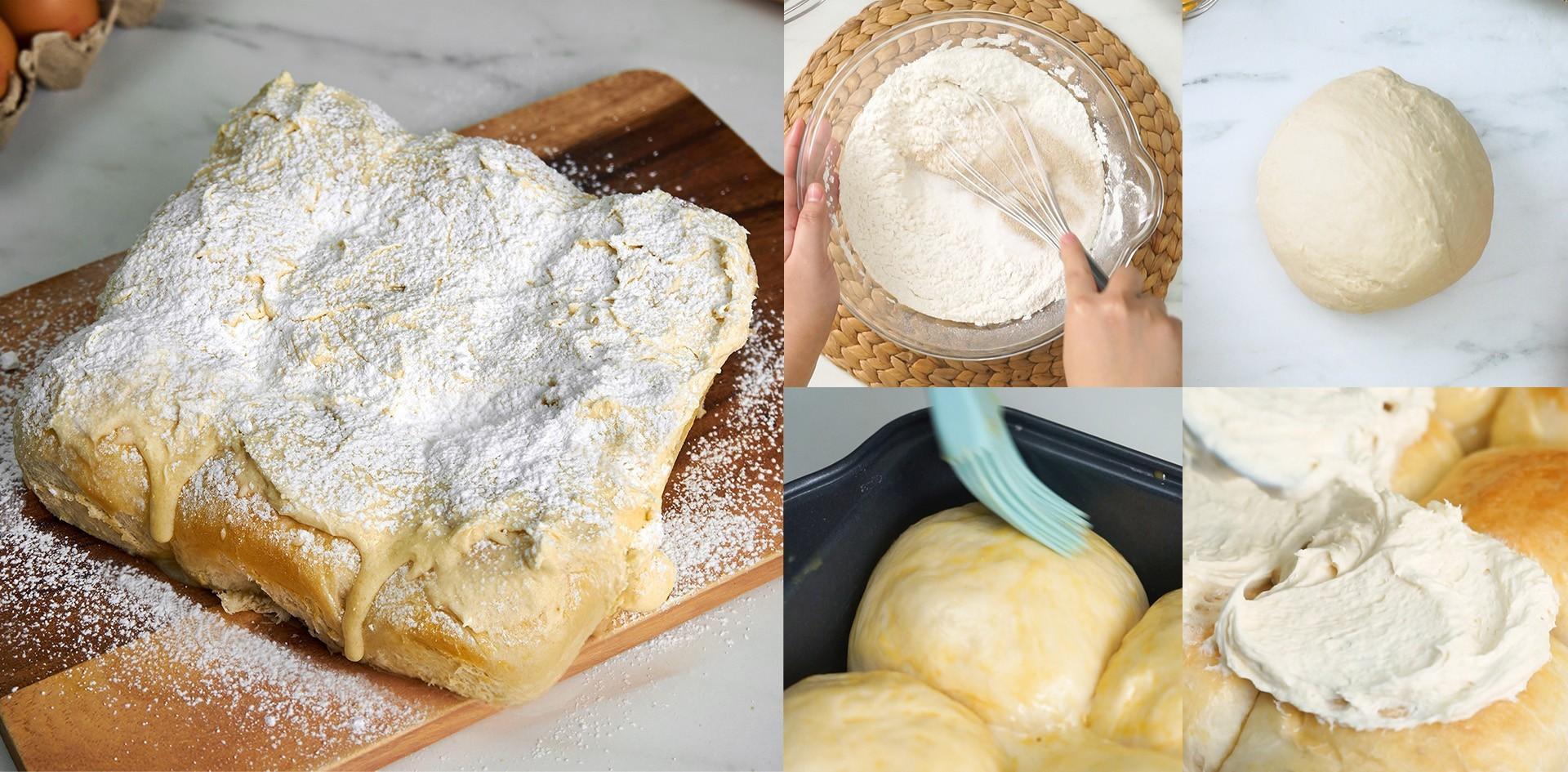 """วิธีทำ """"ขนมปังนมสด"""" เมนูขนมปังเนื้อนุ่ม หวานหอม ไส้เยิ้ม!"""