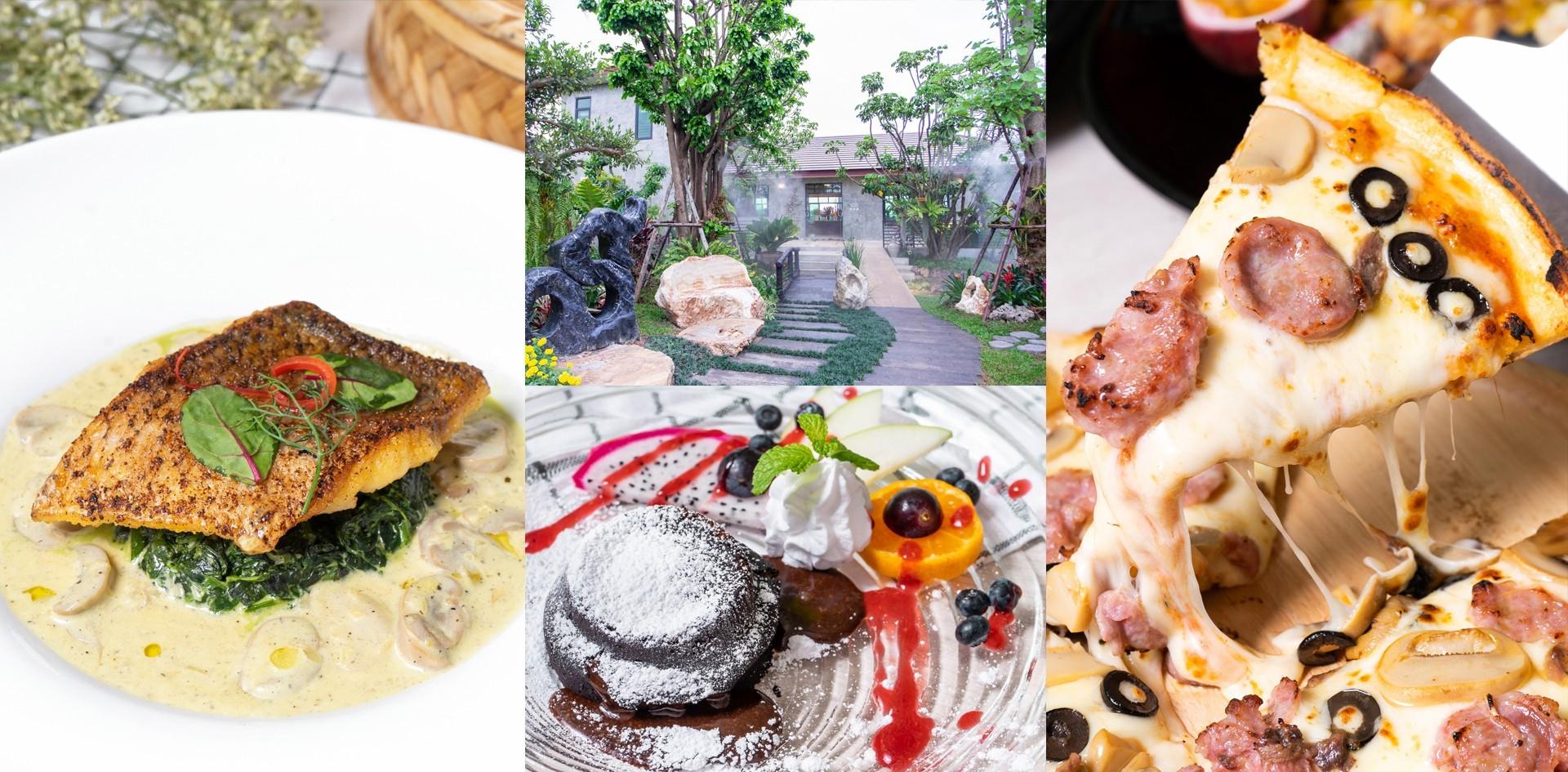 [รีวิว] ภูไพรพรรณ ร้านอาหารบรรยากาศดีเชียงใหม่ ในสวนสวยราวเทพนิยาย