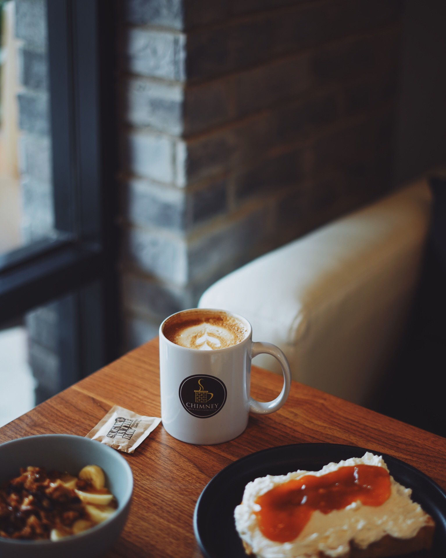Chimney Brick Toast Coffee House