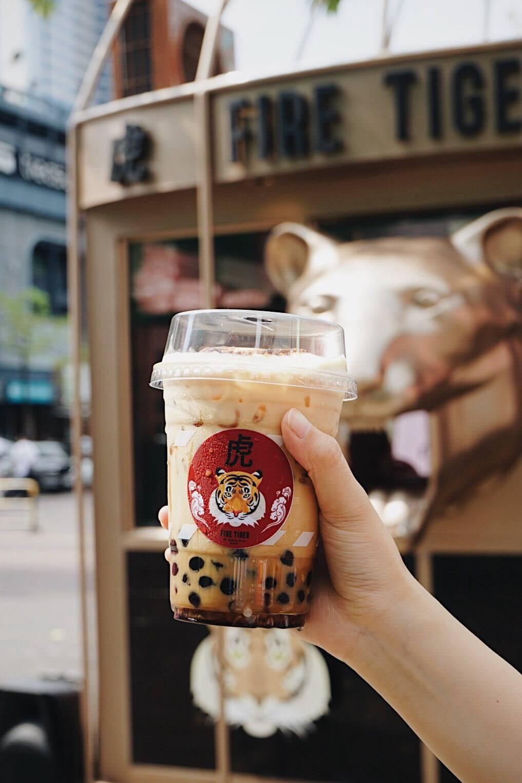 Fire Tiger by Seoulcial Club (เสือพ่นไฟ) Siam Square Soi 7