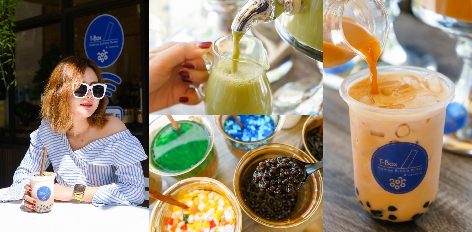 [รีวิว] ร้าน T-Box Premium Bubble Buffet ชาไข่มุกบุฟเฟ่ต์ภูเก็ต