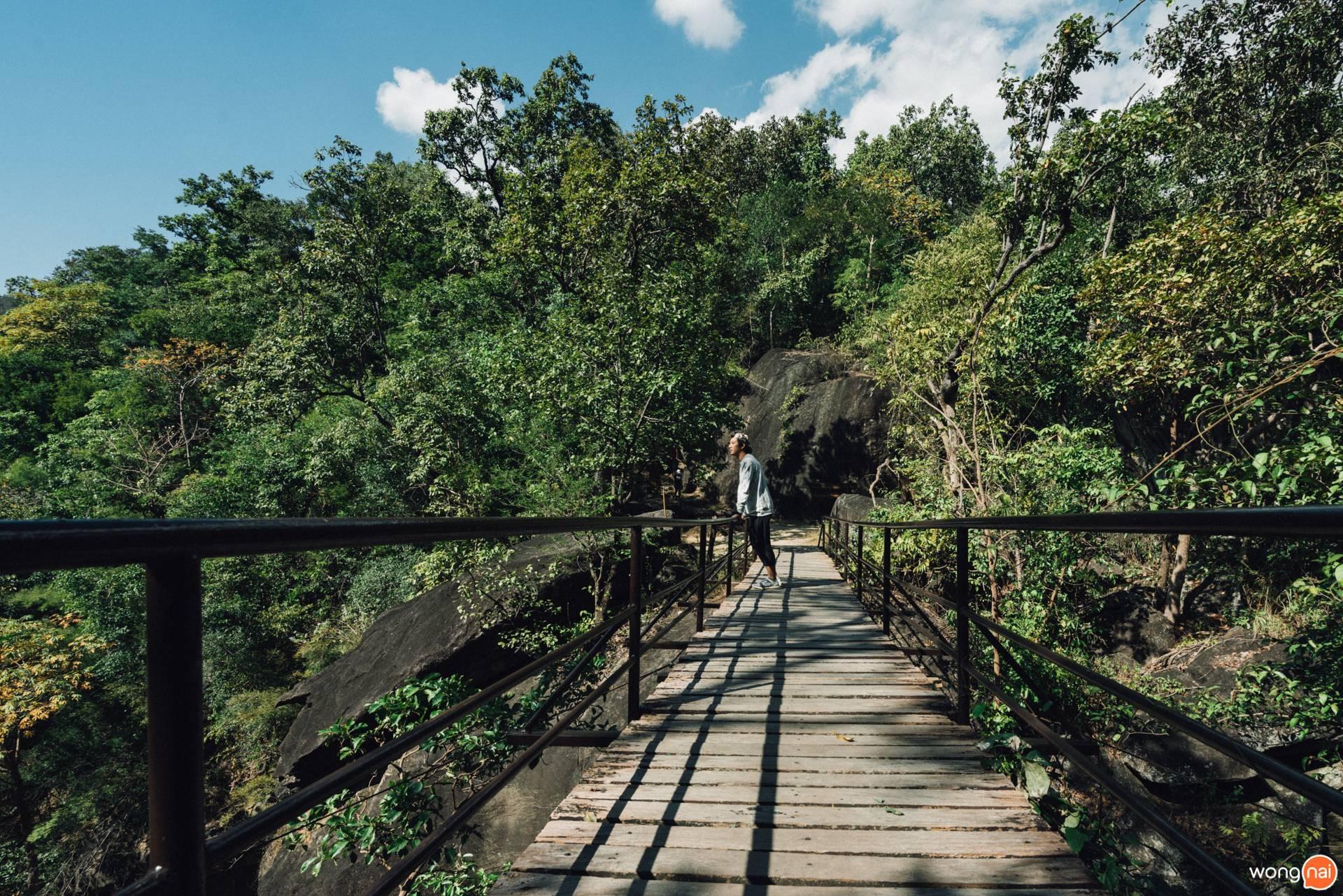 สะพานแขวนข้ามหน้าผา