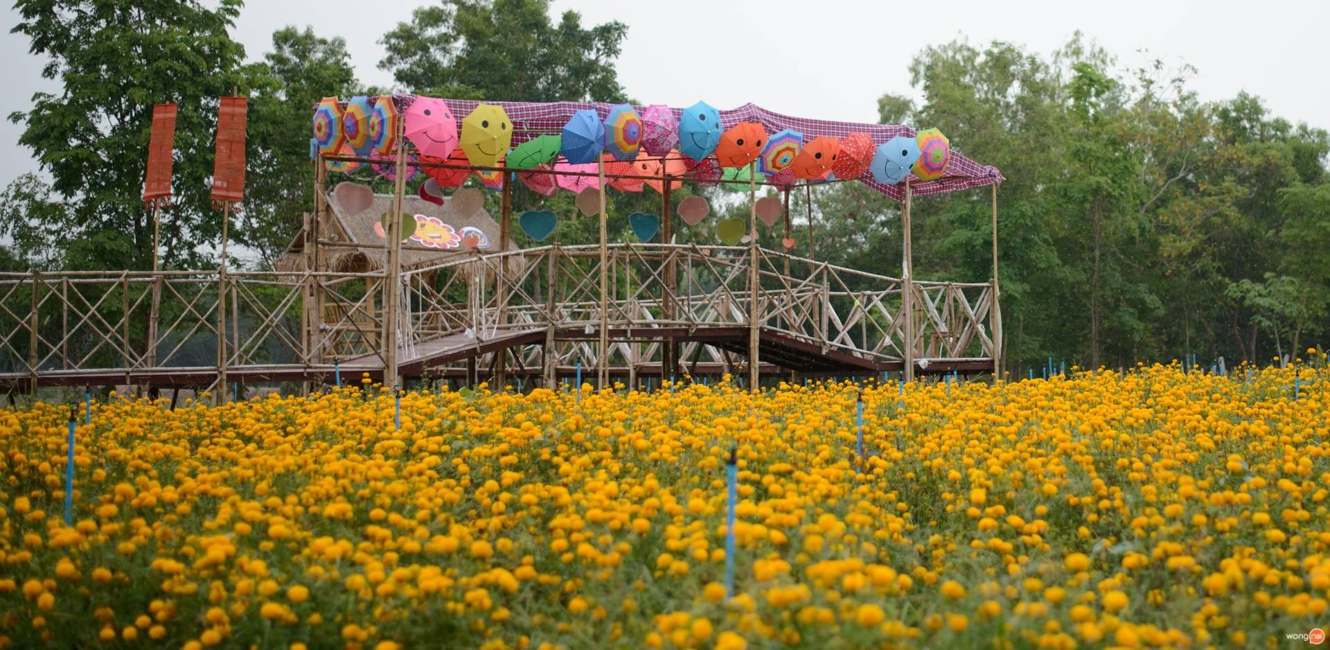 หมู่บ้านดอกไม้ บ้านห้วยสําราญ