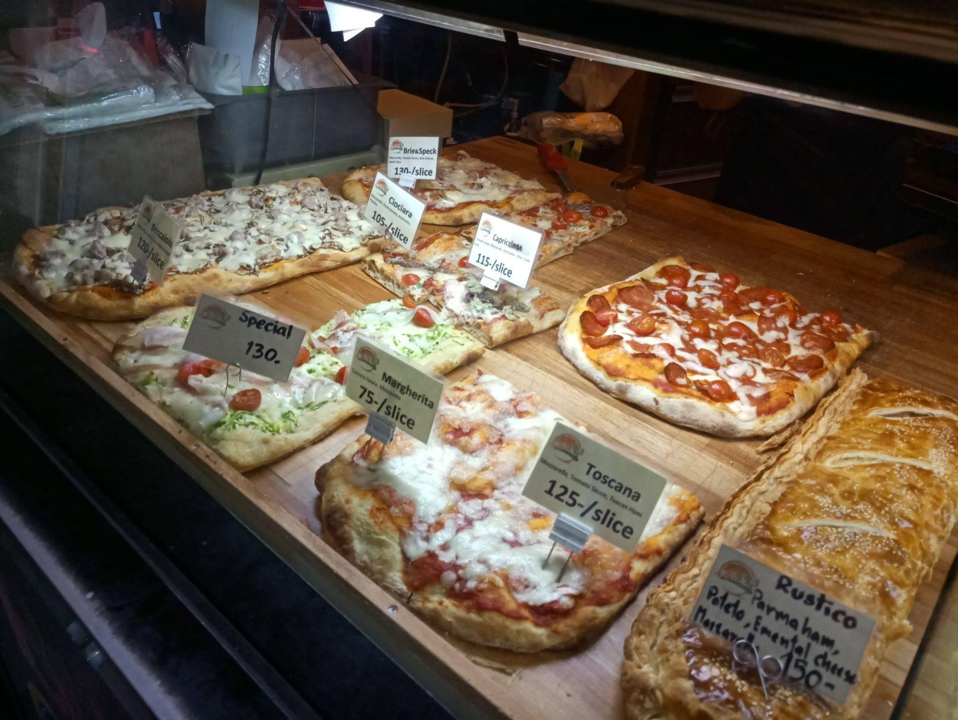 Pizza หน้าต่างๆ