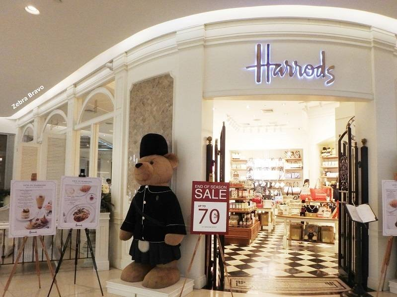 Harrods The Plantation Rooms Central Embassy