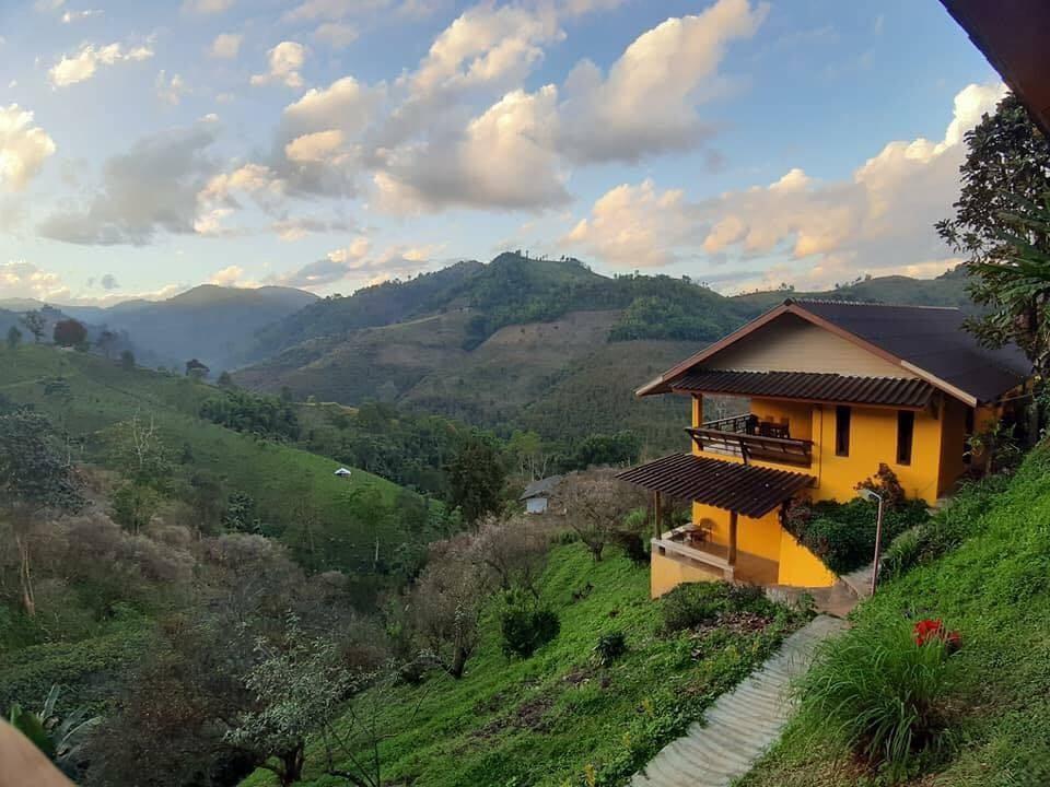 ขอขอบคุณรูปภาพจาก FB Maesalong Mountain Home Resort