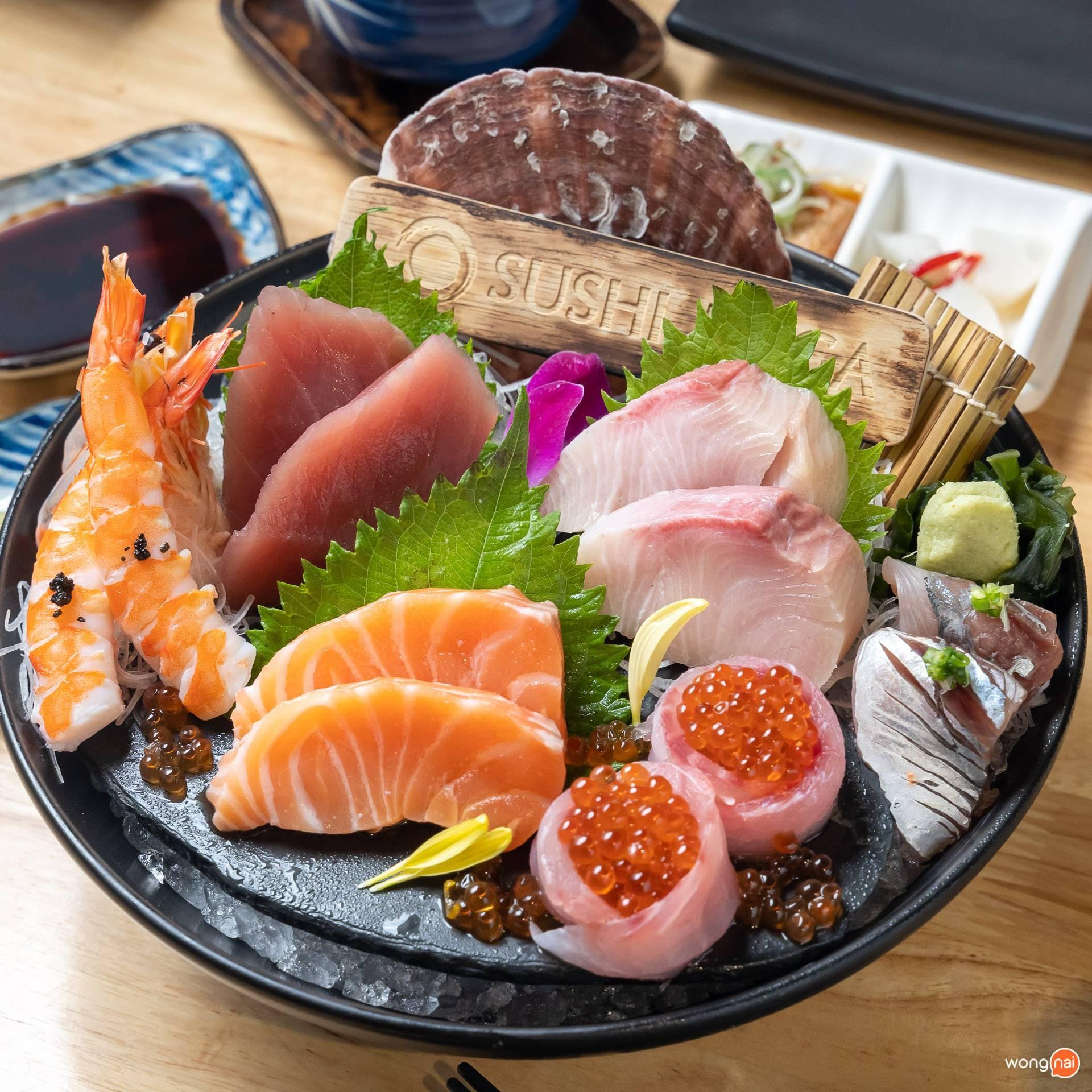 Sushi Mega เพลินนารี่มอล์ล