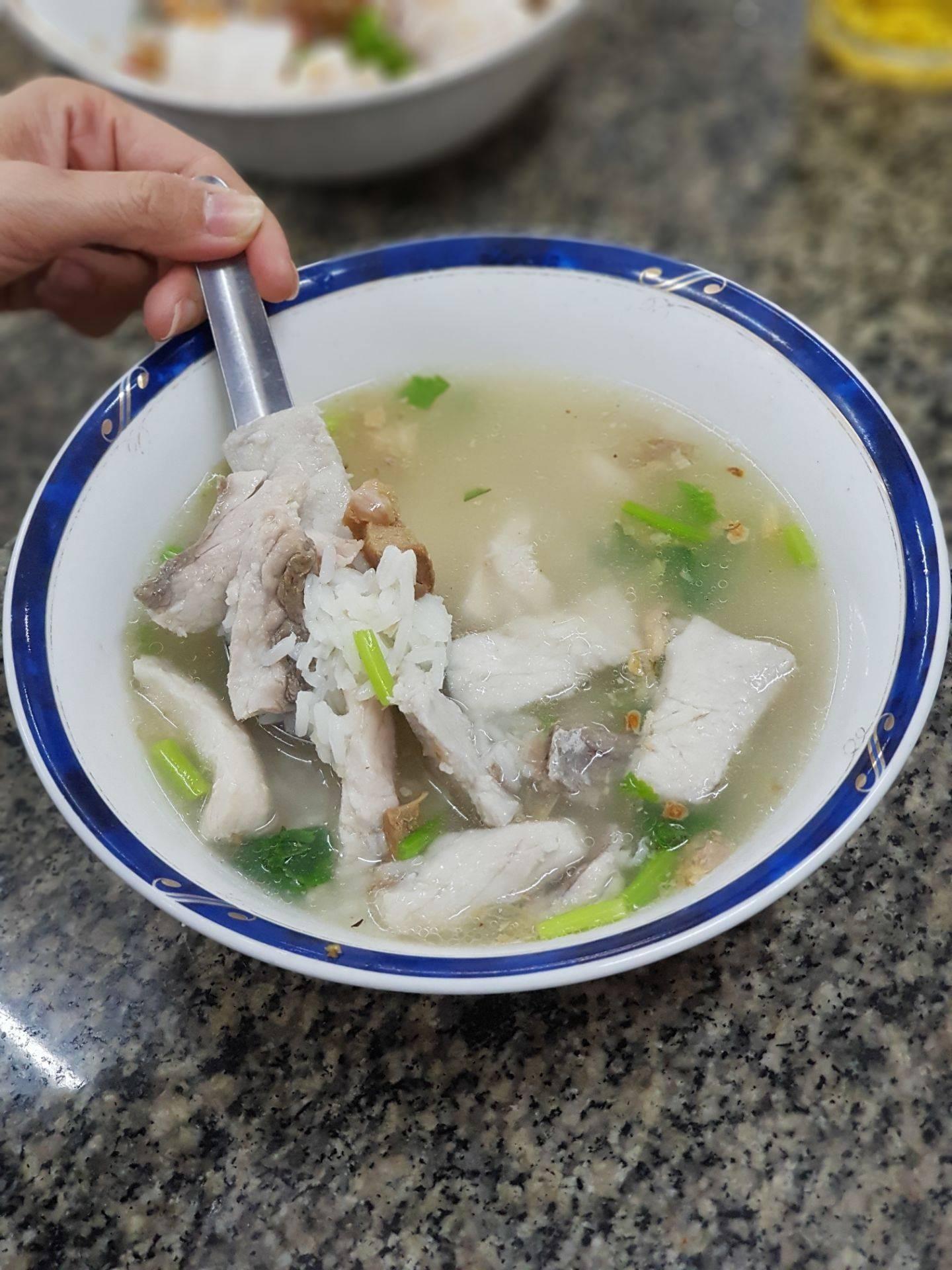 ข้าวต้มปลากิมโป้ (เฮียฮ้อ) เจริญกรุง - ถนนตก - หัวลำโพง