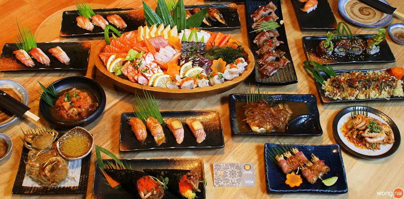 Okami Sushi Japanese Restaurant ซีคอนสแควร์
