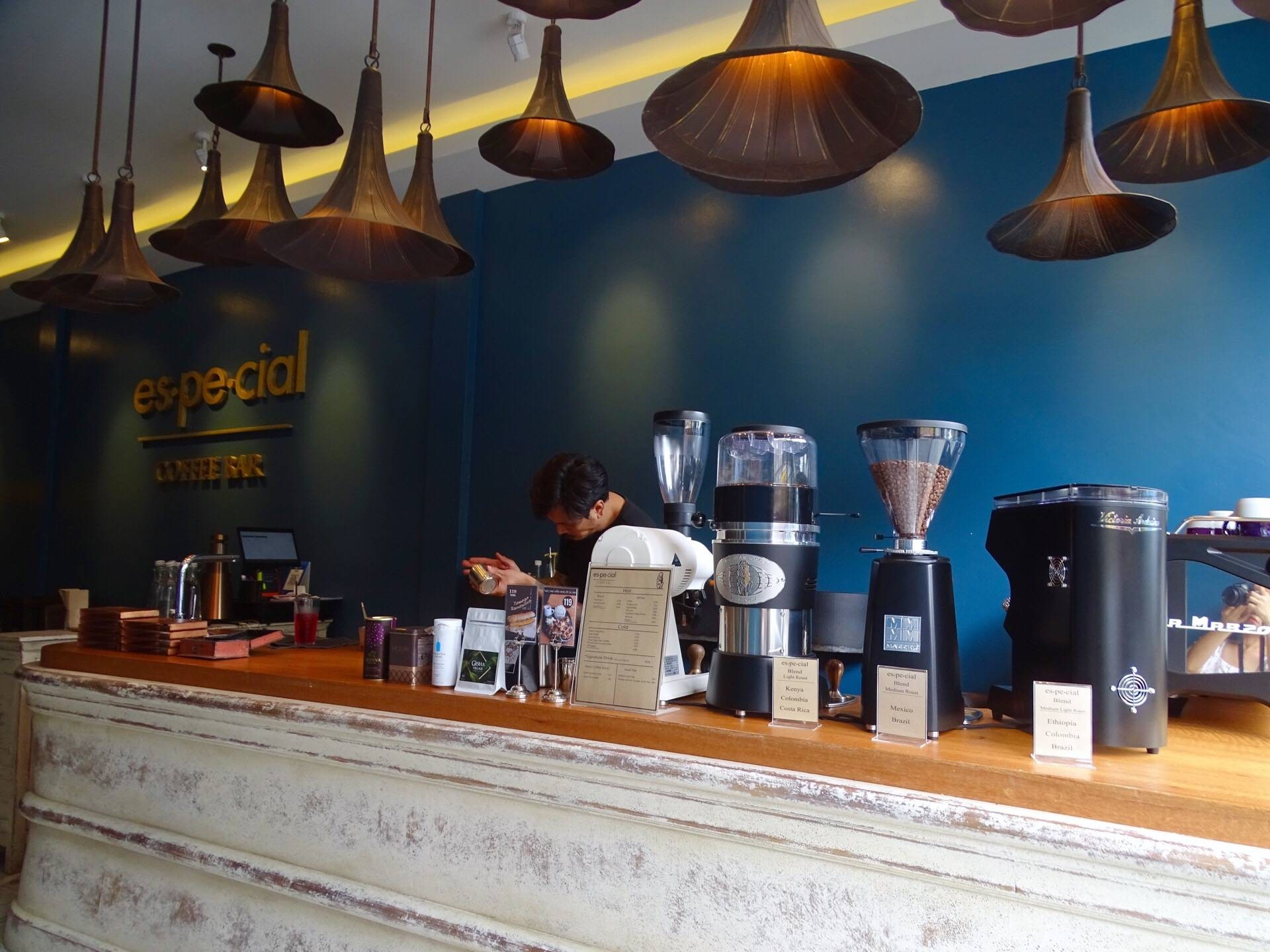 Es-pe-cial Coffee Bar