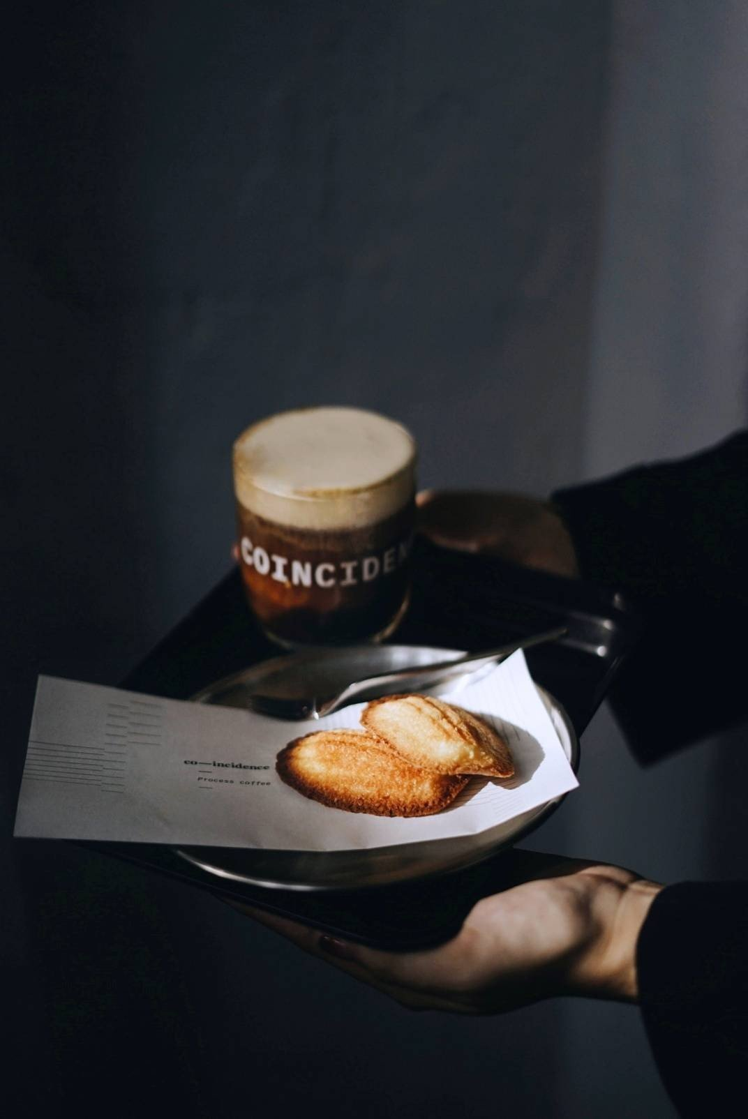 Co-incidence process coffee