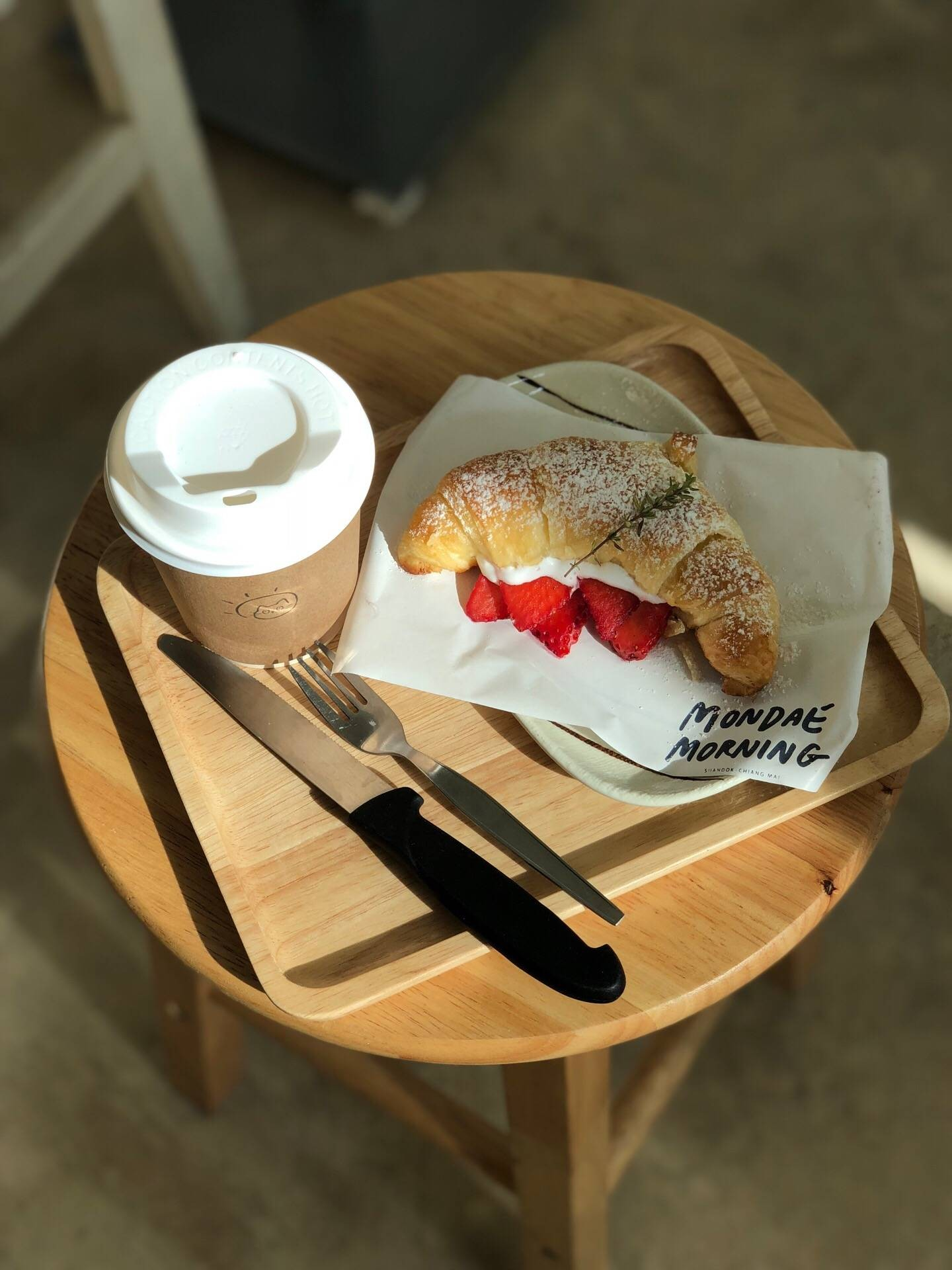 Mondae Cafe Suan dok