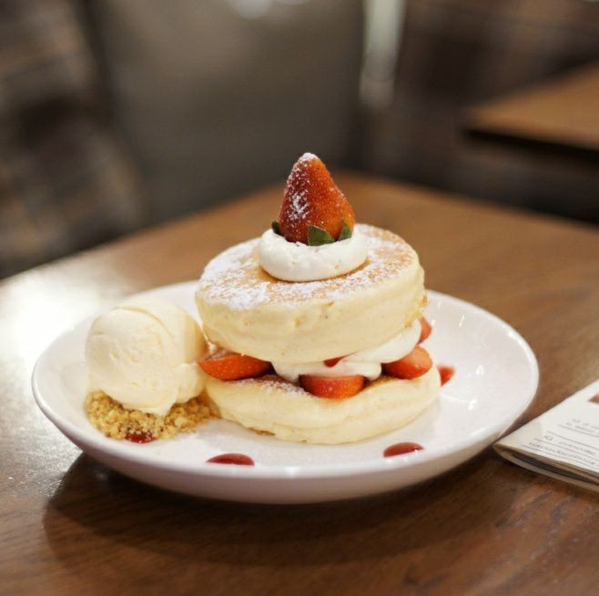 FLUFF Pancake Cafe สยามพารากอน